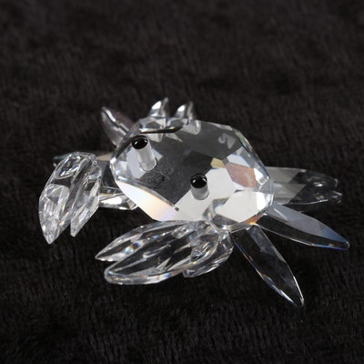 dcf5f6740 Swarovski Crystal Miniature Crab Figurine Designed by Michael Stamey