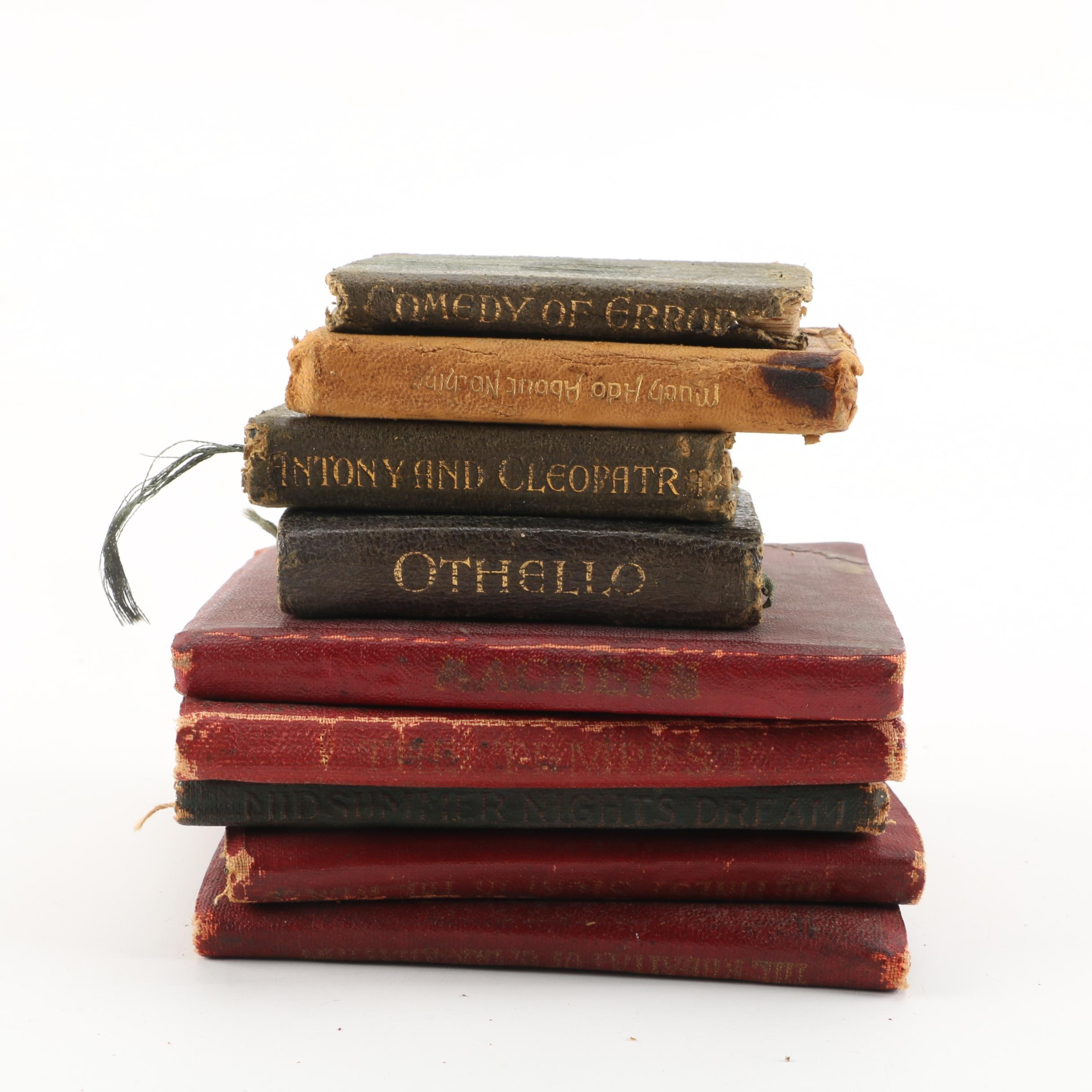Early 20th Century Miniature Books of Shakespeare's Works and More
