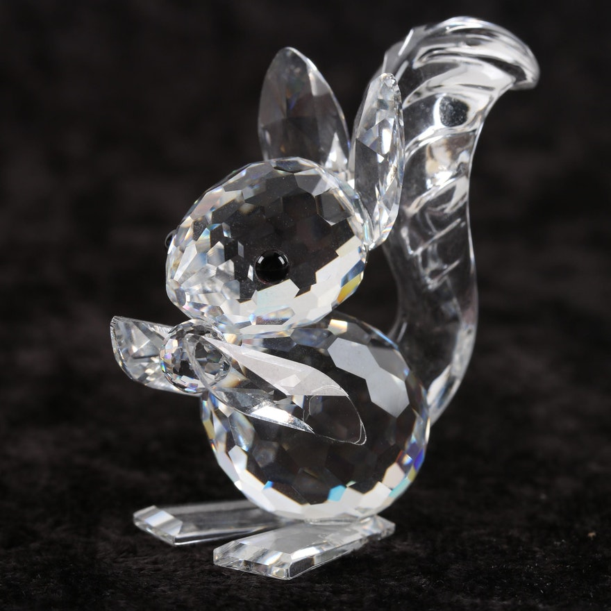 90c016f47 Swarovski Crystal Squirrel Figurine Designed by Max Schreck : EBTH
