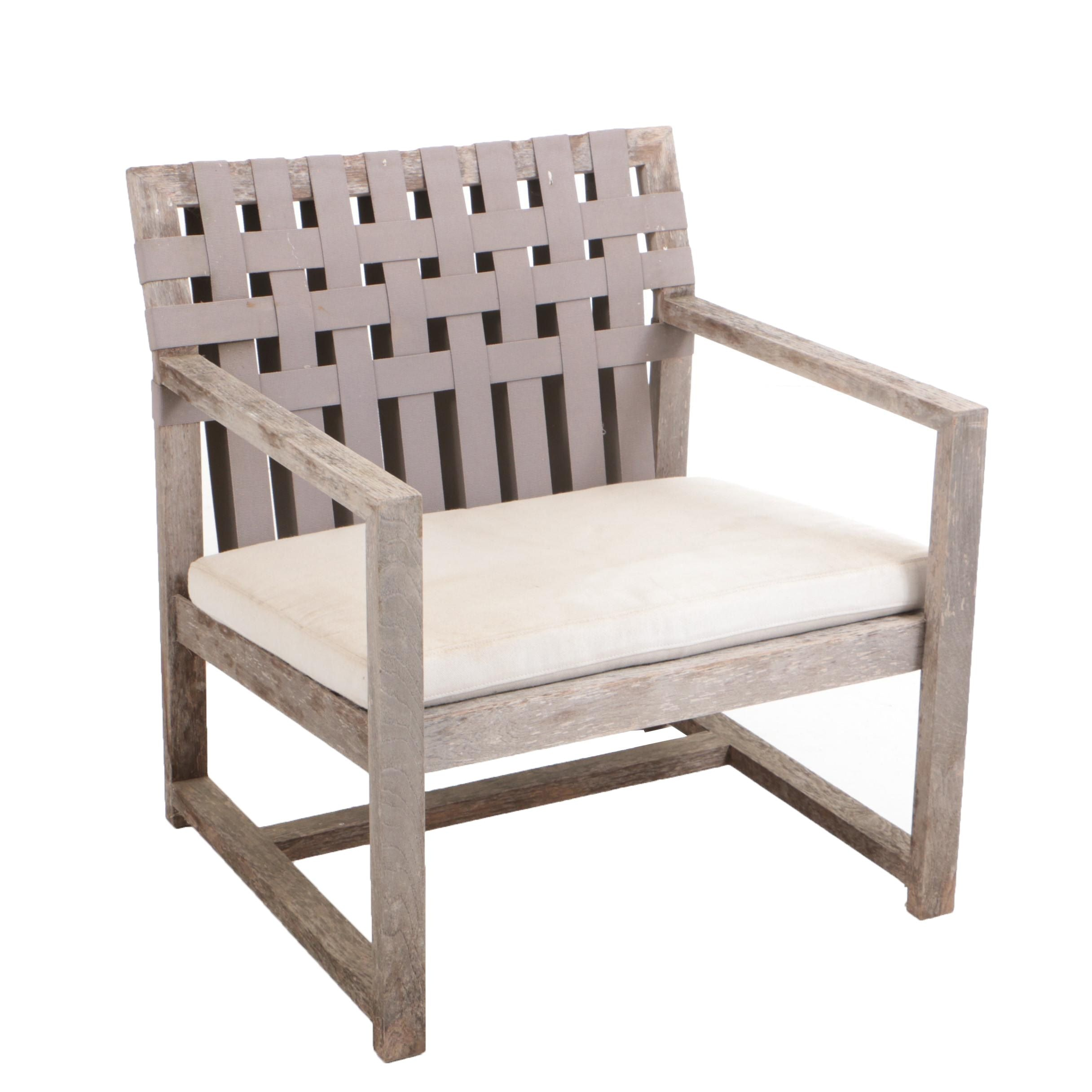 "Roda ""Network 168"" Teak Lounge Chair"