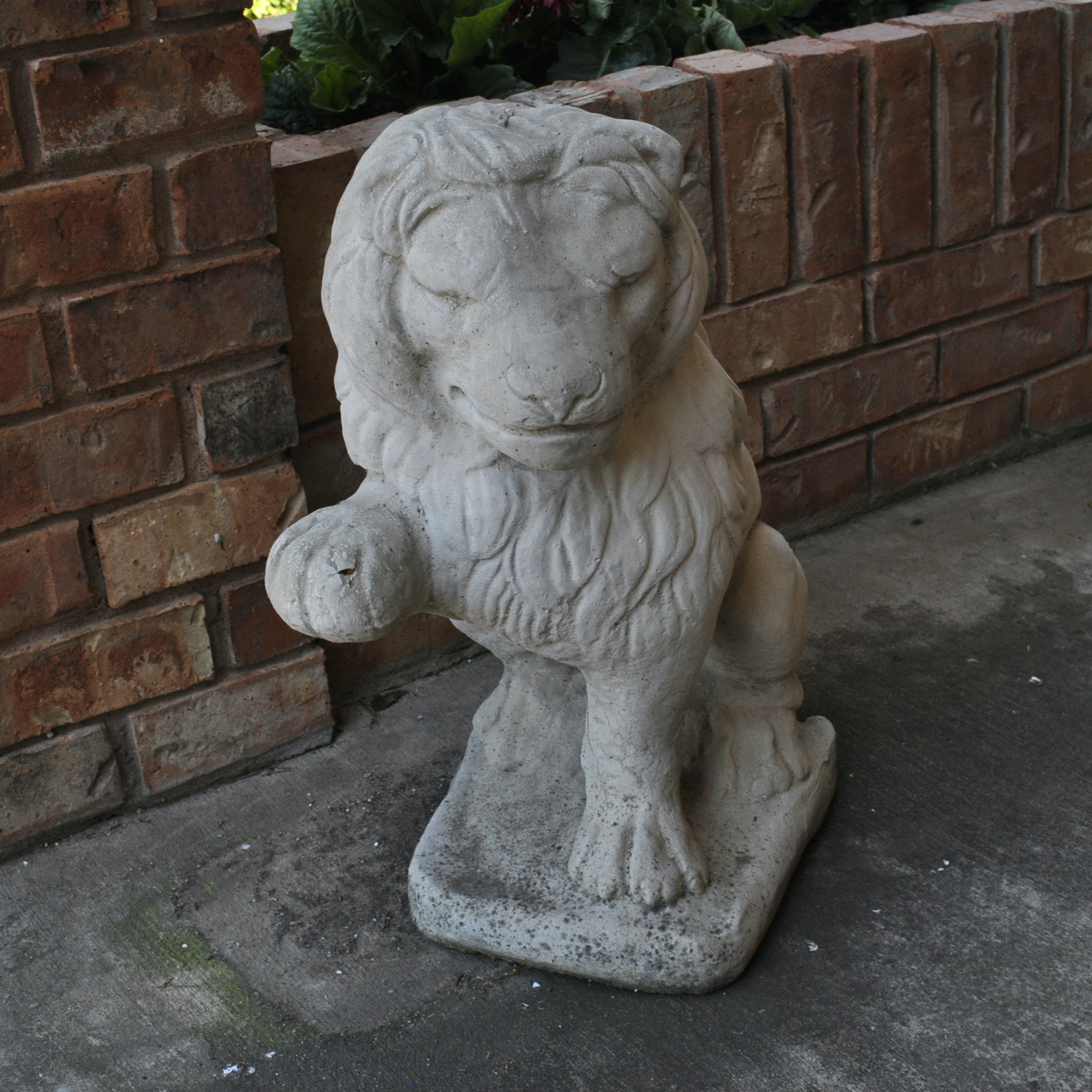 Concrete Outdoor Lion Sculpture