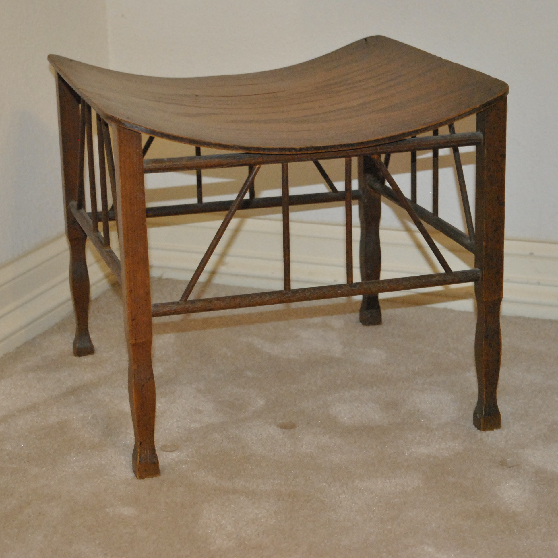 Vintage Thebes Style Stool