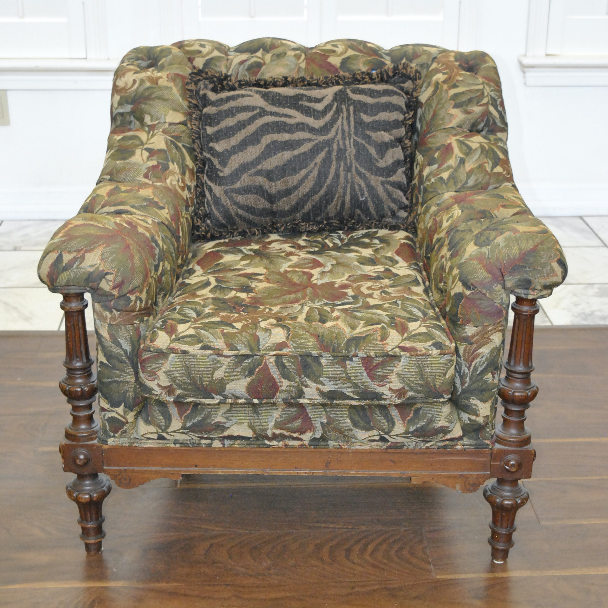Early 20th Century Upholstered Chair