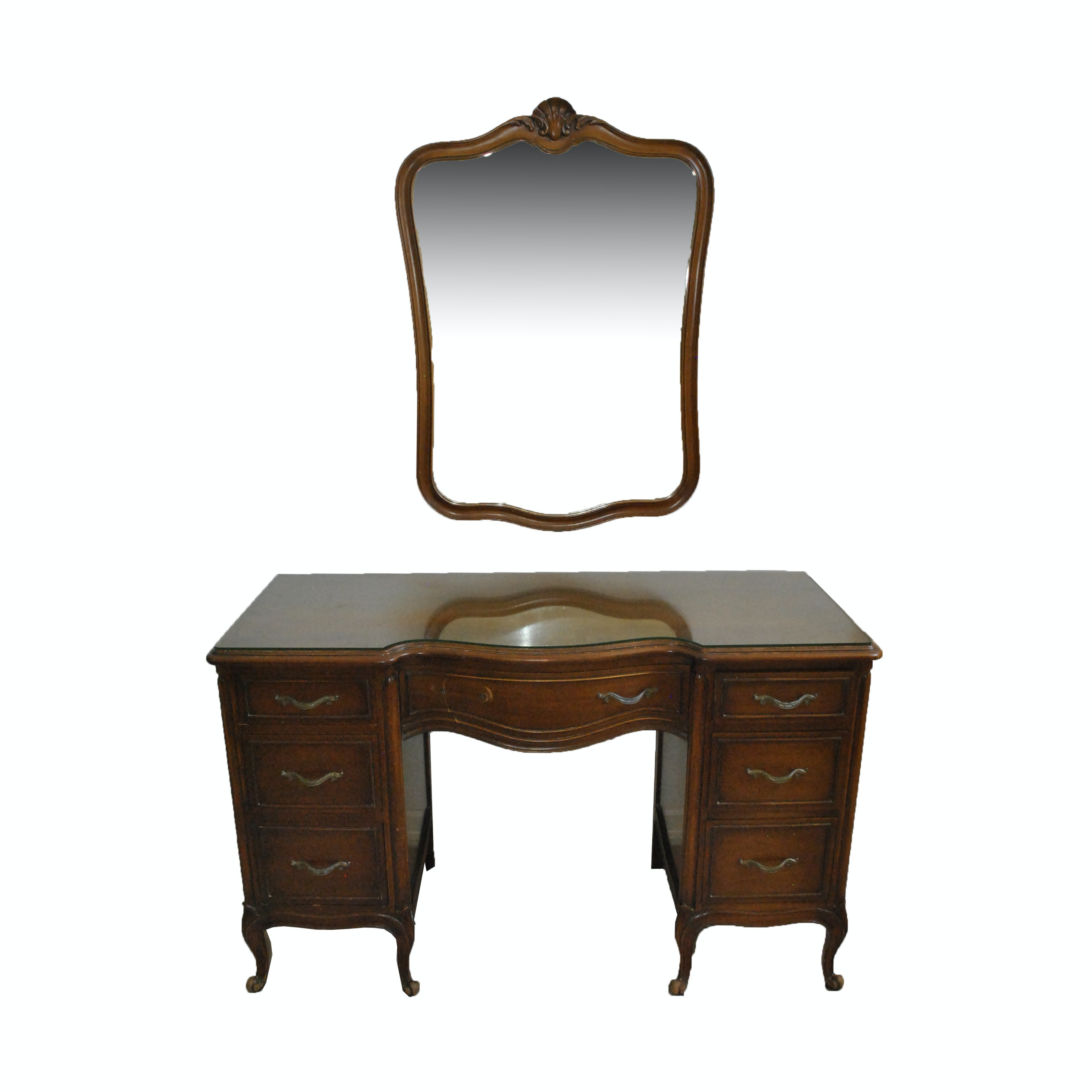 French Provincial Style Desk/ Vanity by Suniland