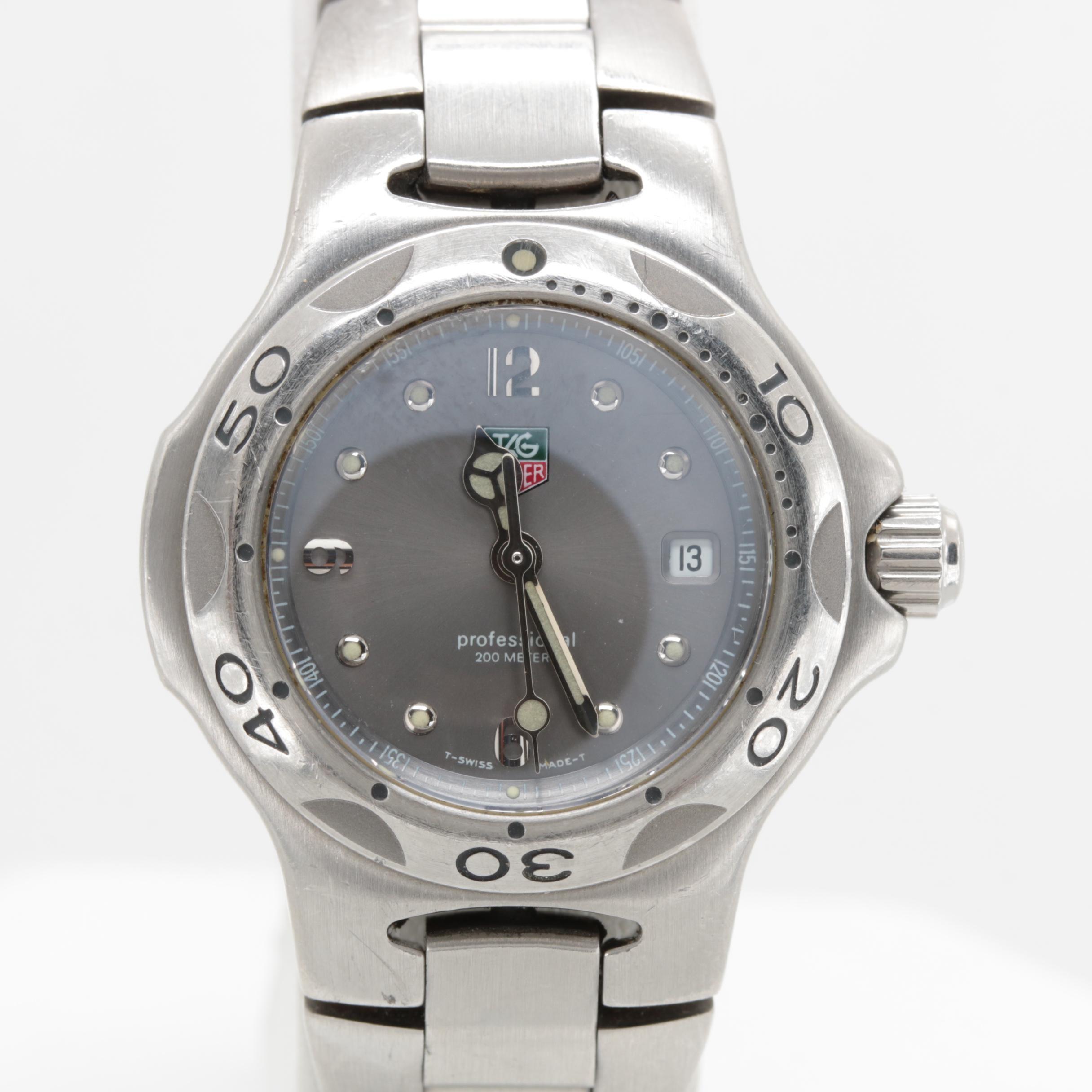 TAG Heuer Kirium 200m Stainless Steel Quartz Wristwatch