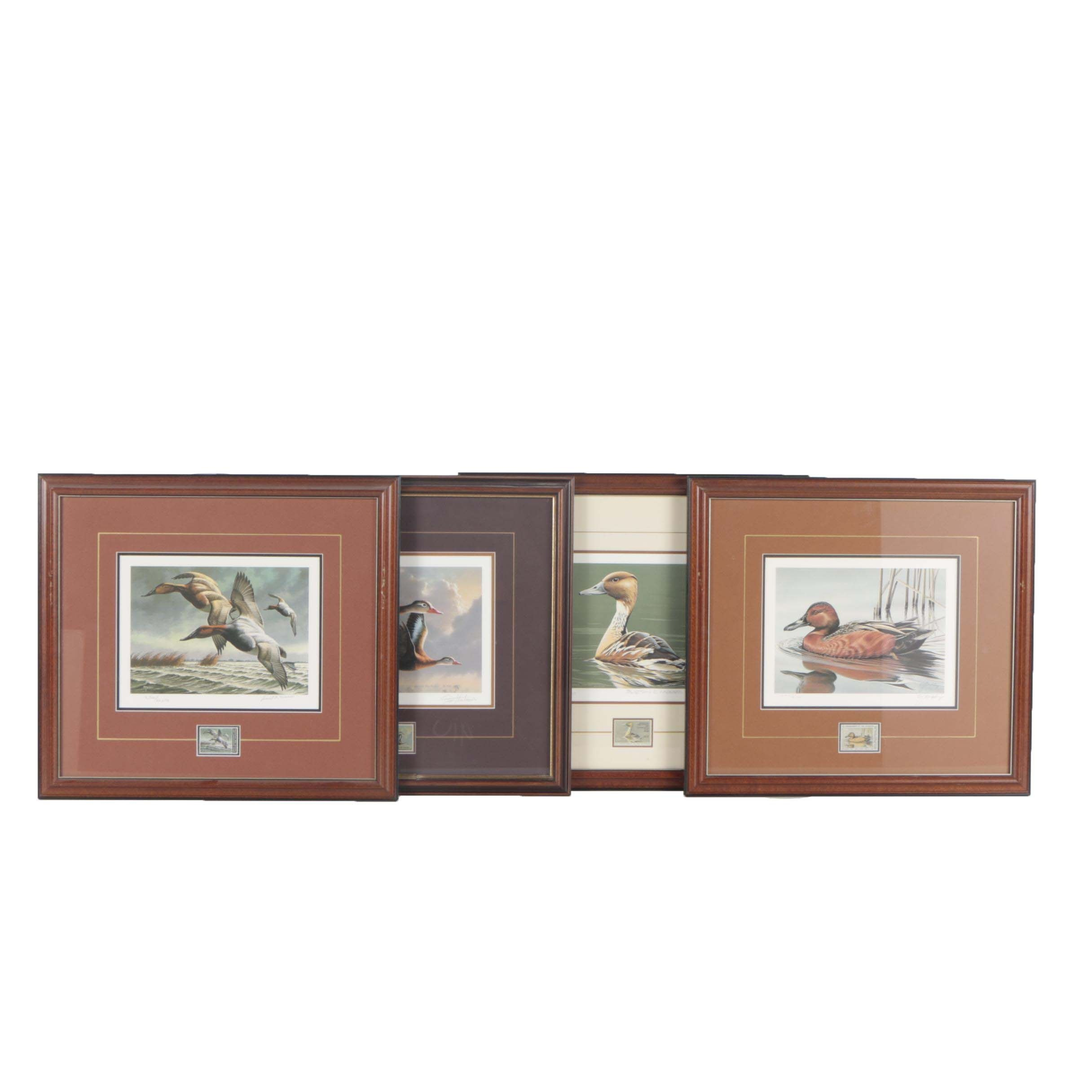 Migratory Bird Hunting and Conservation Offset Lithographs and Stamps