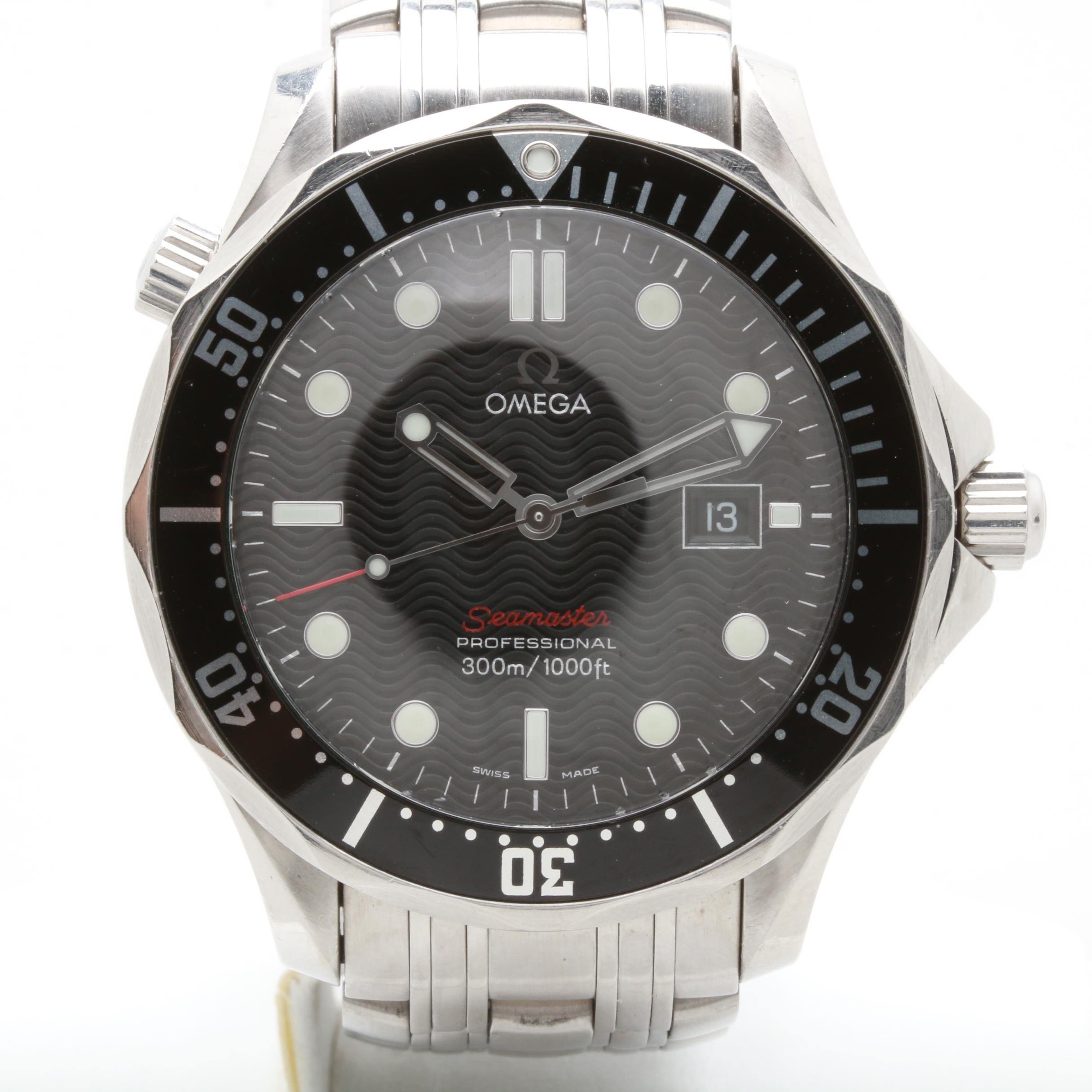 "Omega Seamaster Professional Full Size ""James Bond"" Wristwatch"