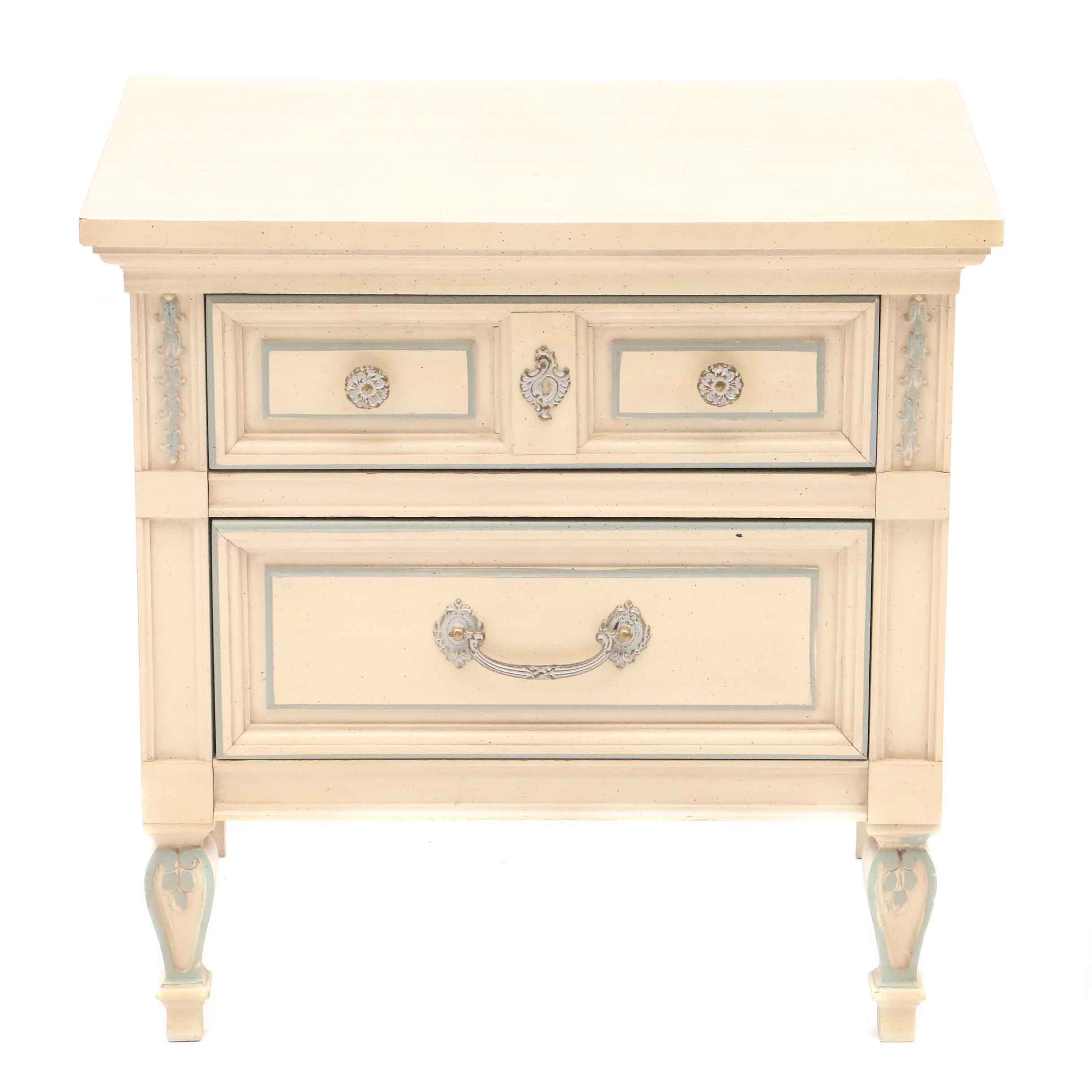 Mid-Century French Provincial Night Stand by Dixie Furniture