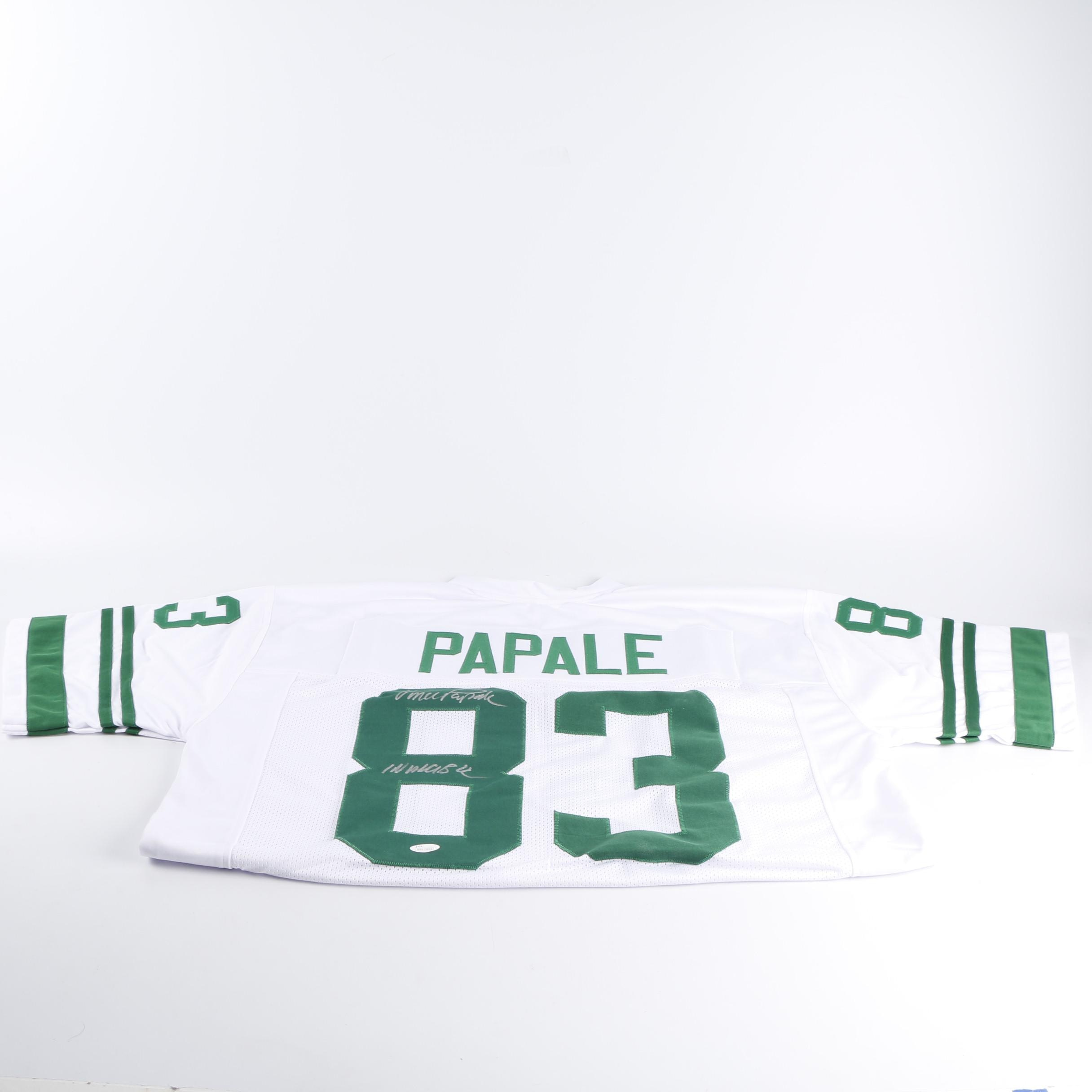 Vince Papale Autographed Jersey - JSA COA