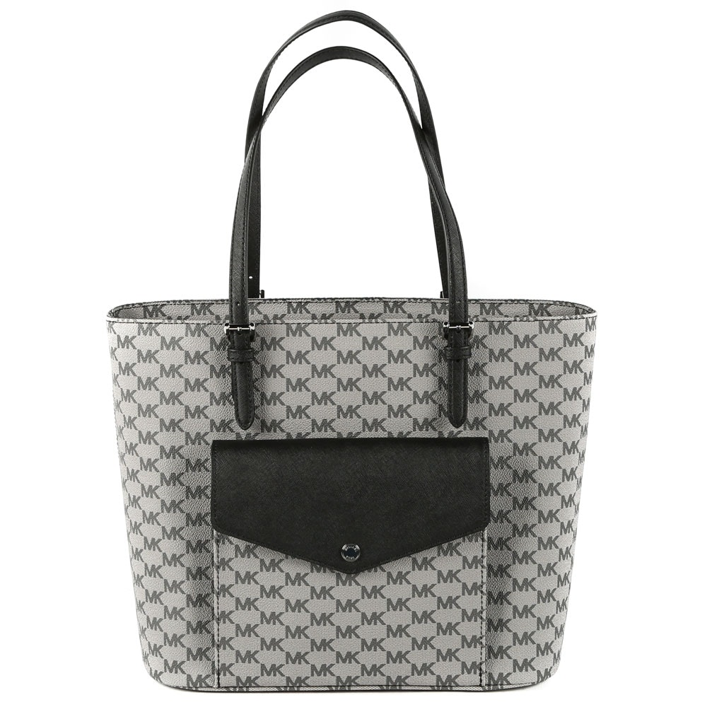 MICHAEL by Michael Kors Jet Set Coated Canvas Tote