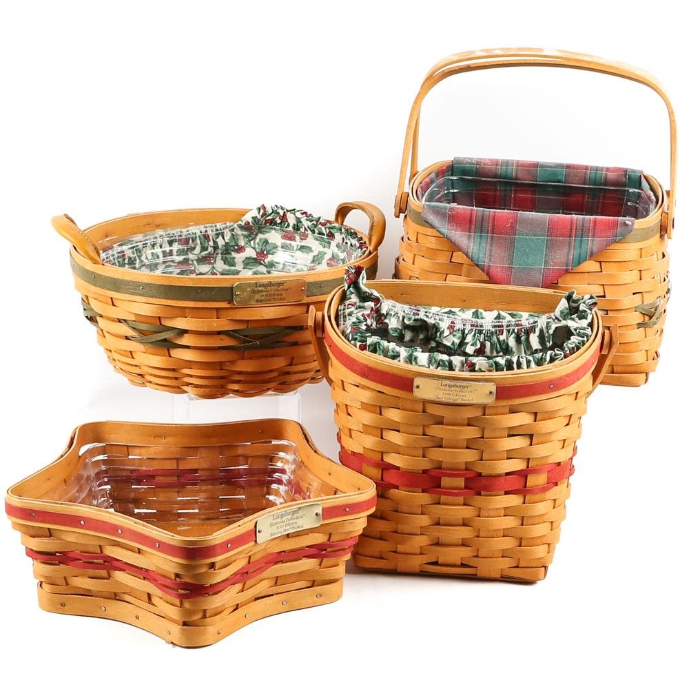 Longaberger Holiday Baskets