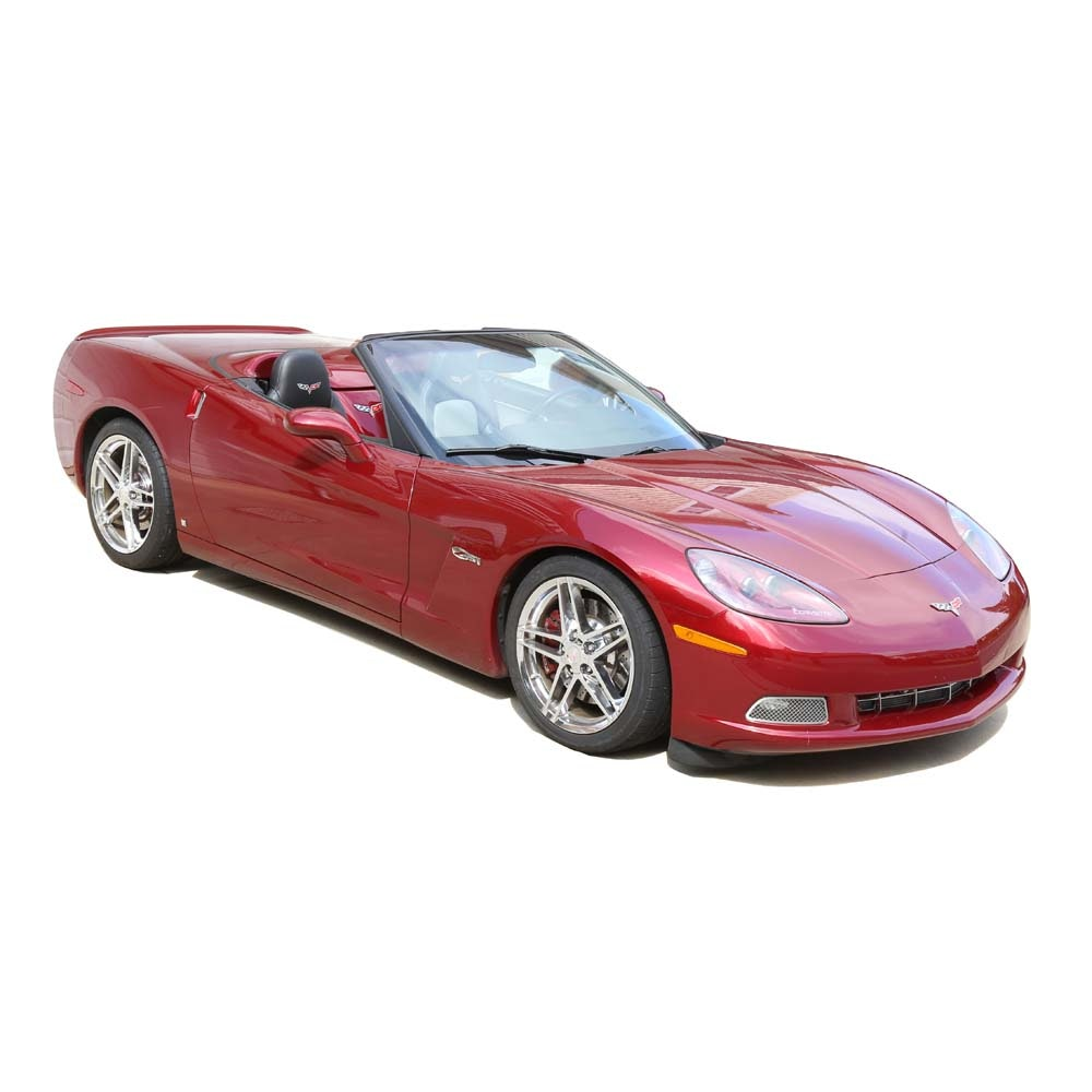 2007 Monterey Red Metallic Chevrolet Corvette C6 Z51 Convertible
