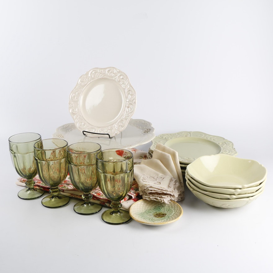 """JCPenney Home Collection """"Isabella"""" Dinnerware With"""