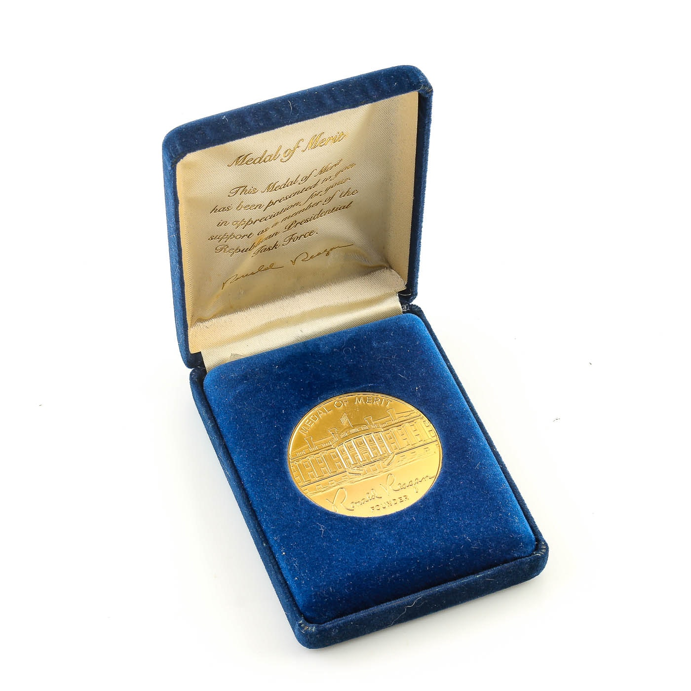 Brass Medal of Merit of the Republican Presidential Task Force