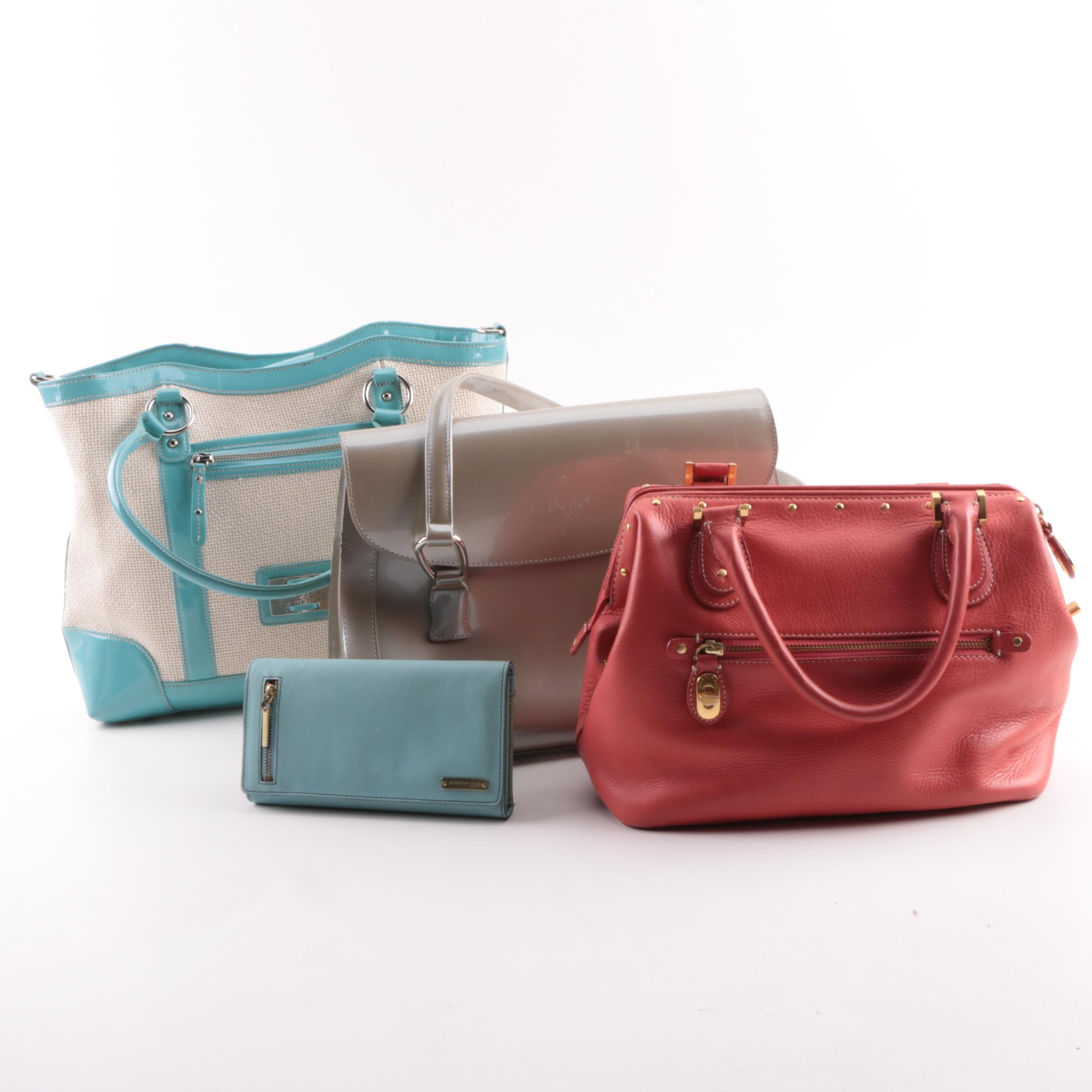 Ellen Tracy, Kenneth Cole New York, and Other Handbags and Wallets