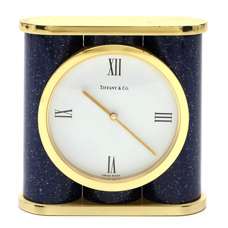 Tiffany & Co. Swiss Made Quartz Desk Clock