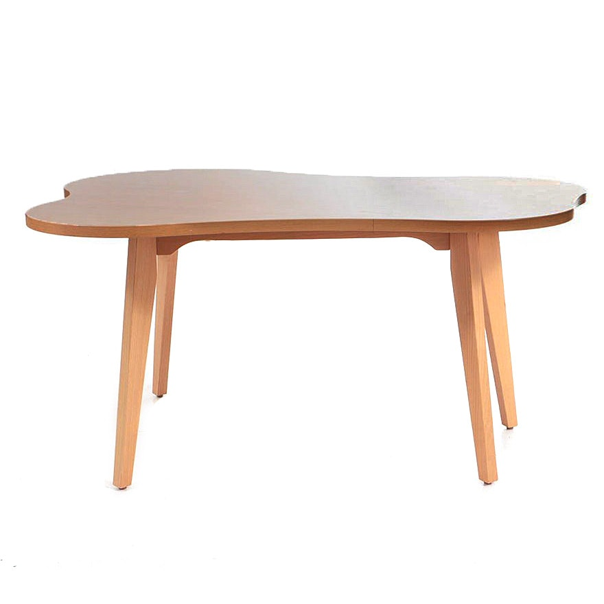 Maple 'Amoeba' Low Table by Jens Risom for Knoll, Inc.