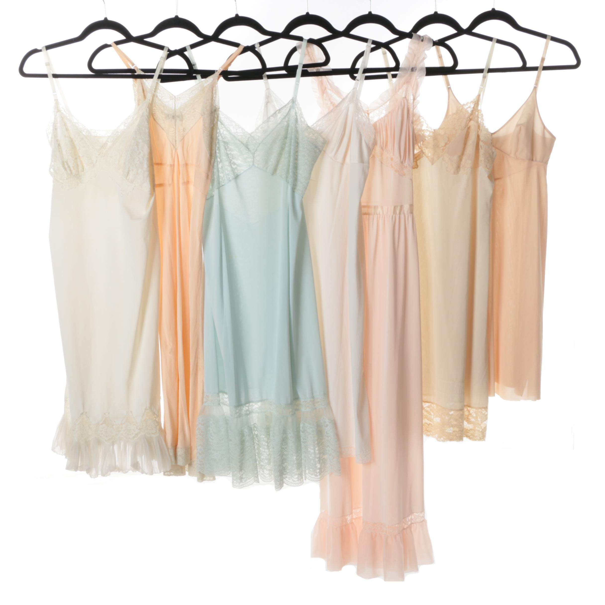 Vintage Slips and Nightgowns