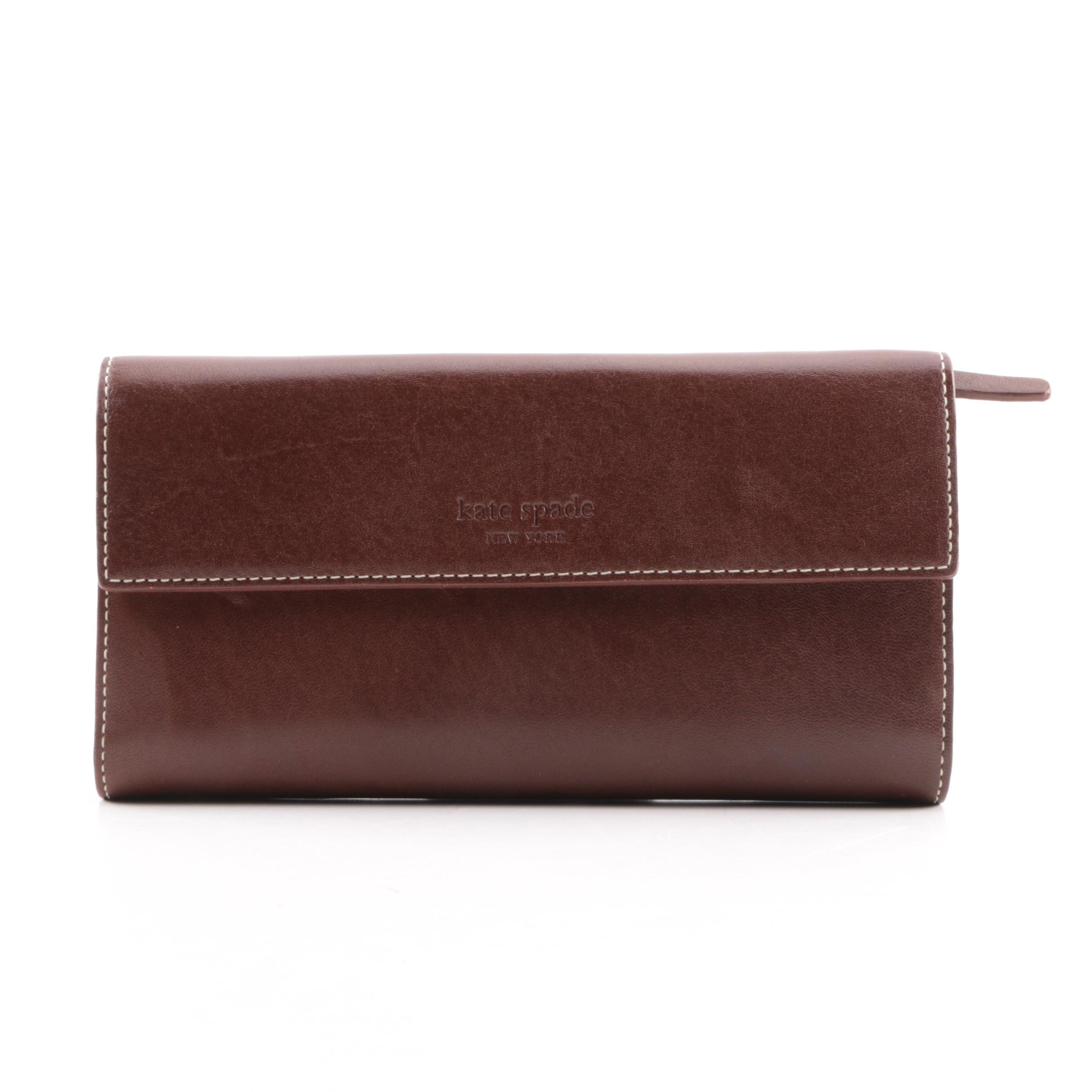 Kate Spade New York Brown Leather Wallet
