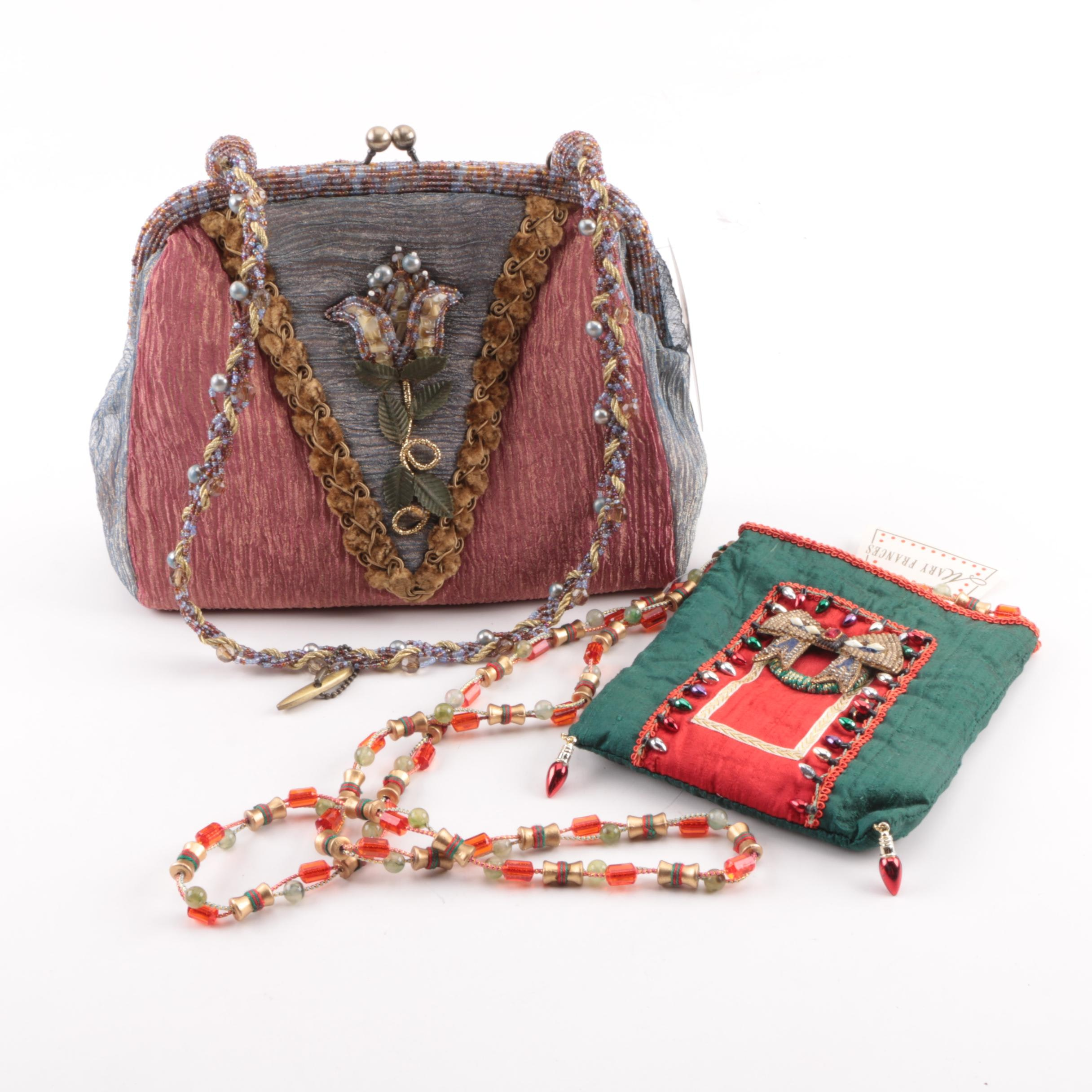 Mary Frances of San Francisco Embellished Handbags