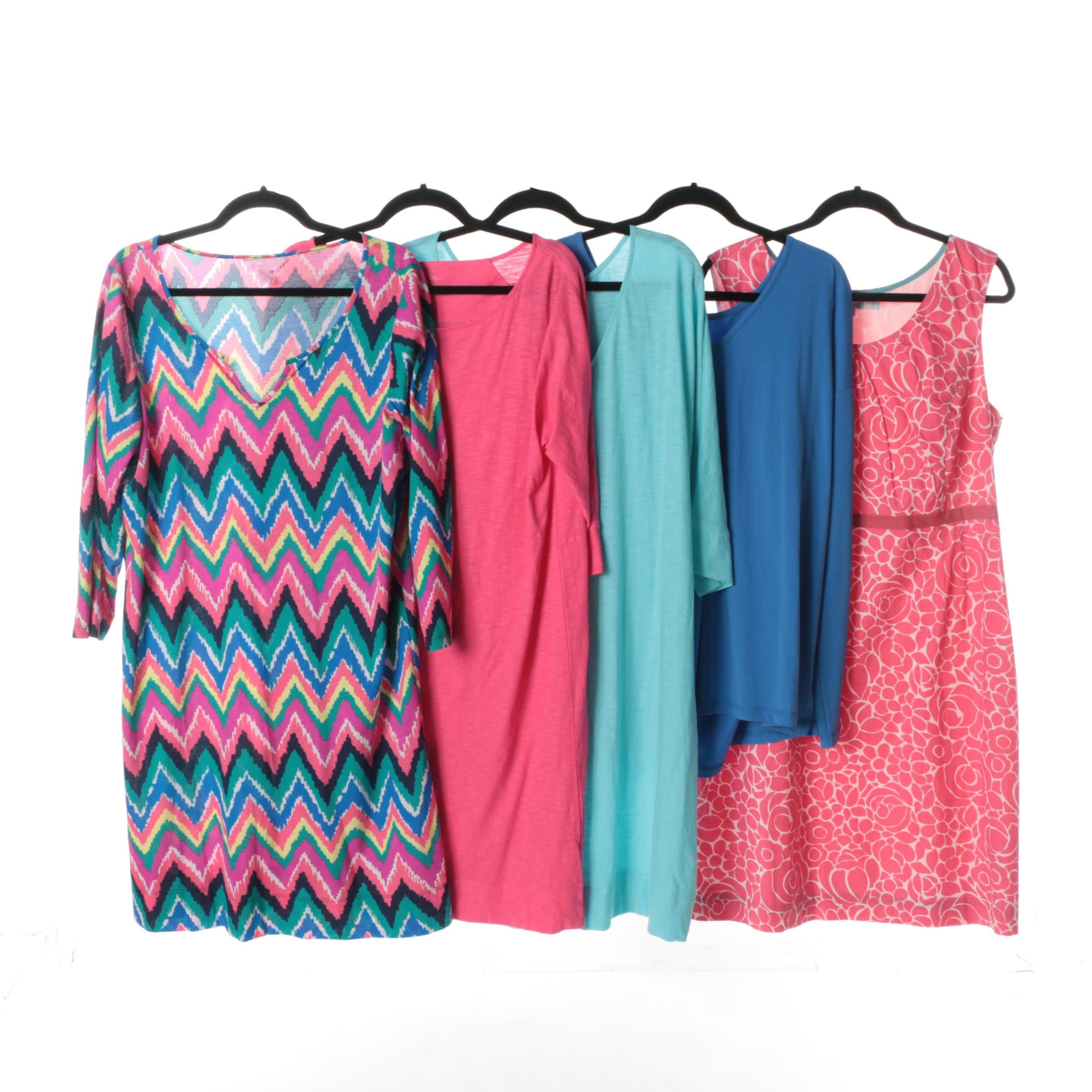 Women's Dresses and Top Including Lilly Pulitzer and Boden