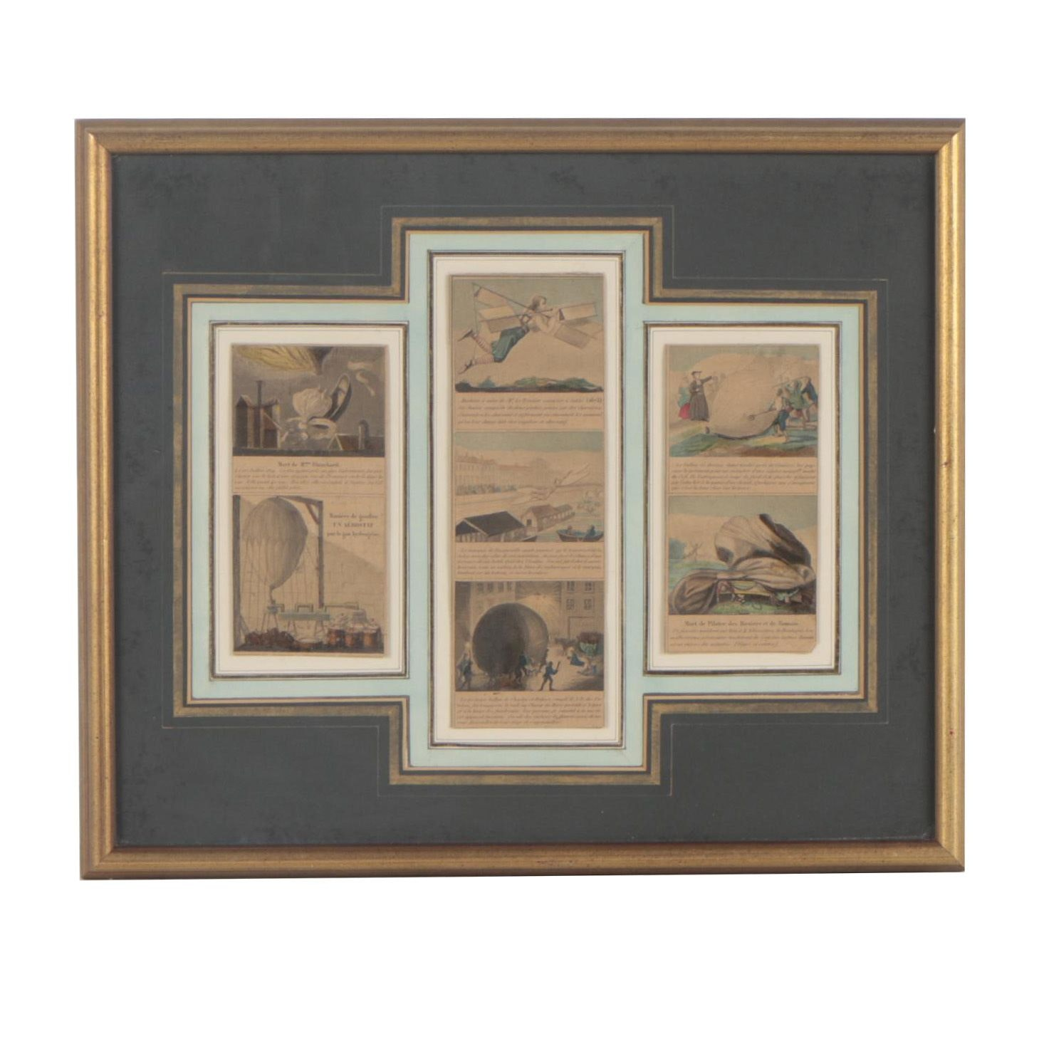 Hand-Colored Lithographs