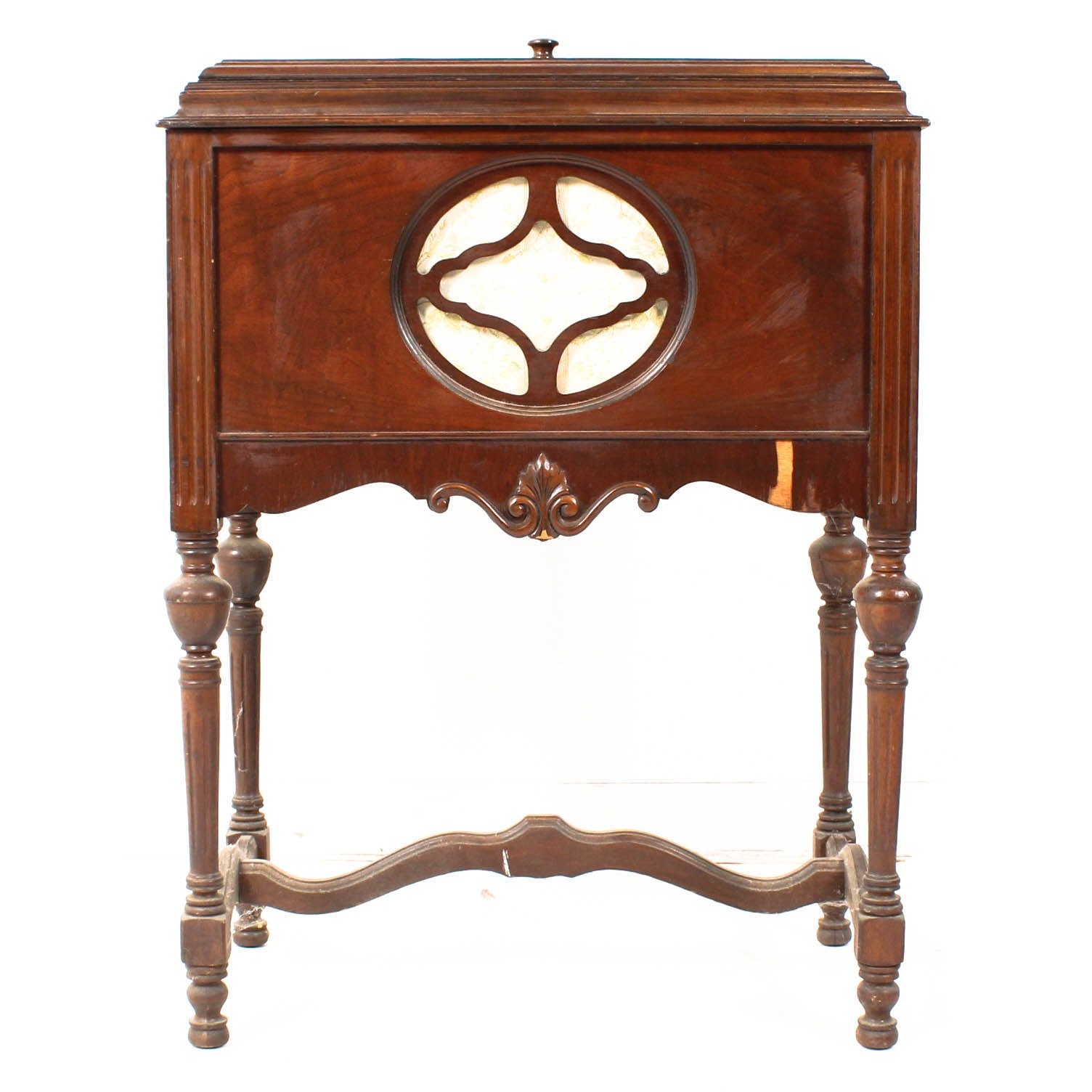 Antique Walnut Radio Case