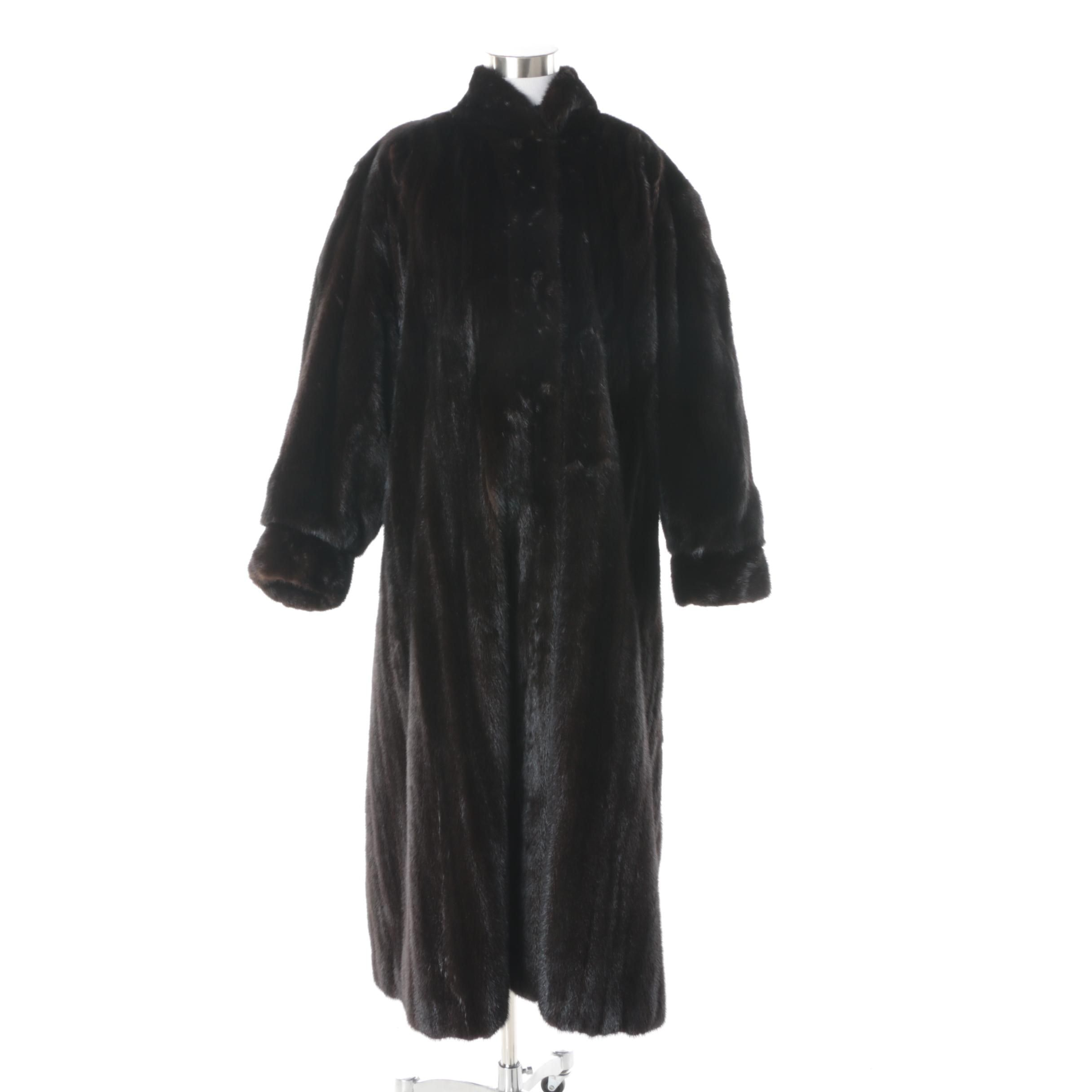 Women's Vintage Joseph Poppie of Chicago Mink Fur Coat