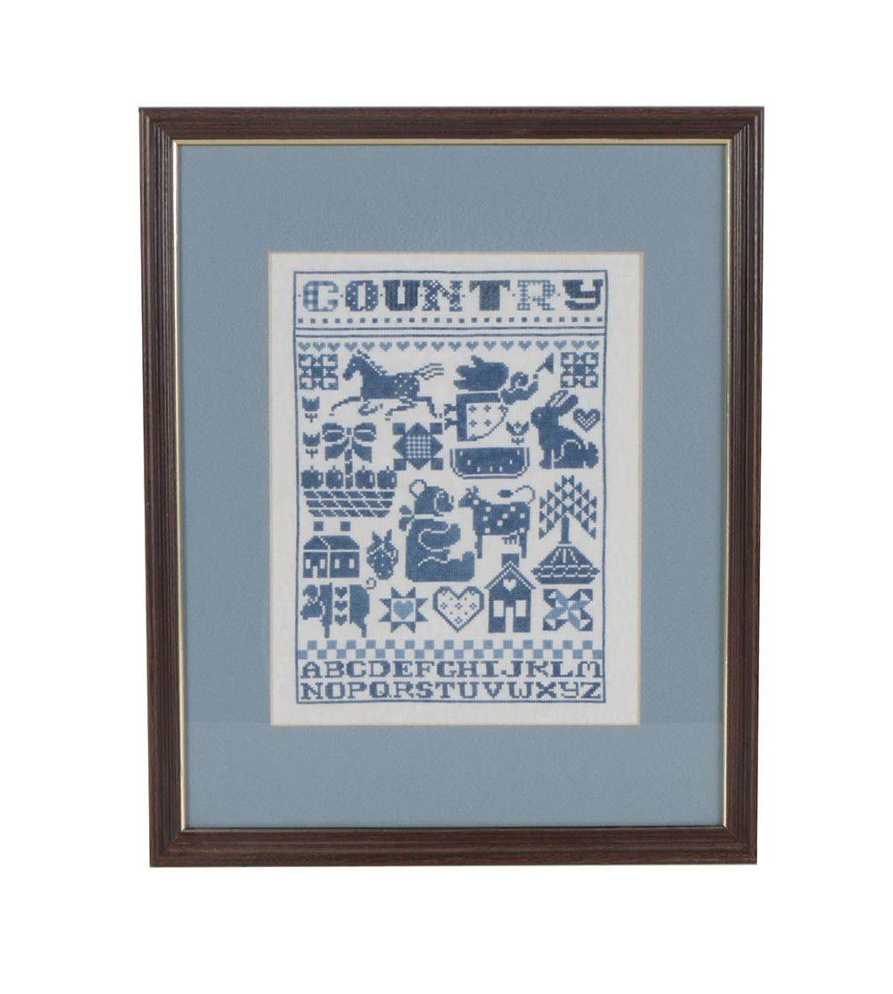 "Cross-Stitch Sampler ""Country"""