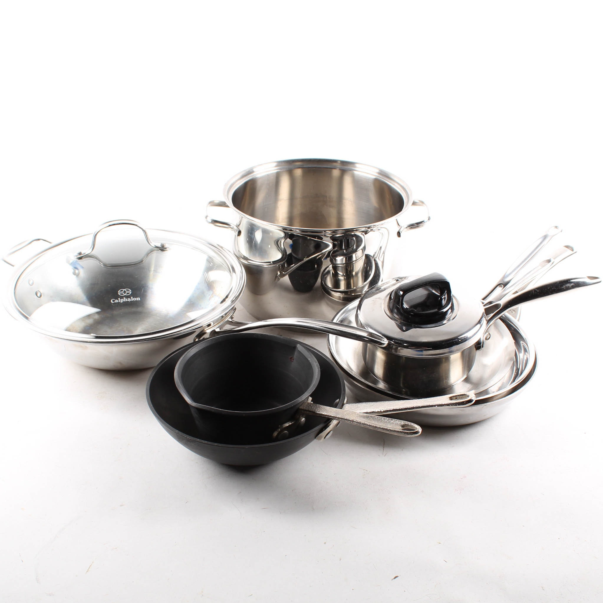 Stainless Steel Cookware with Calphalon