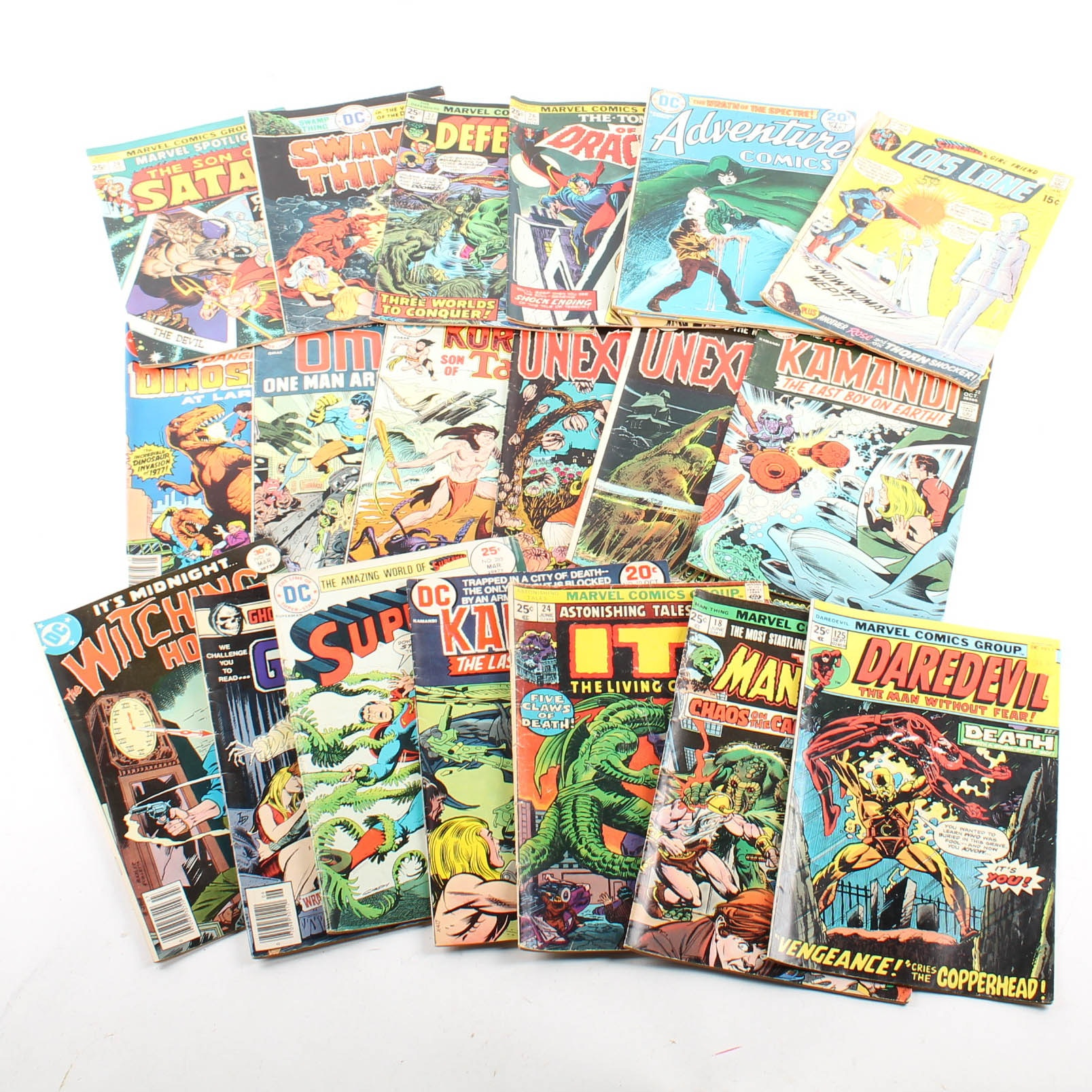 Vintage Comic Books from DC and Marvel