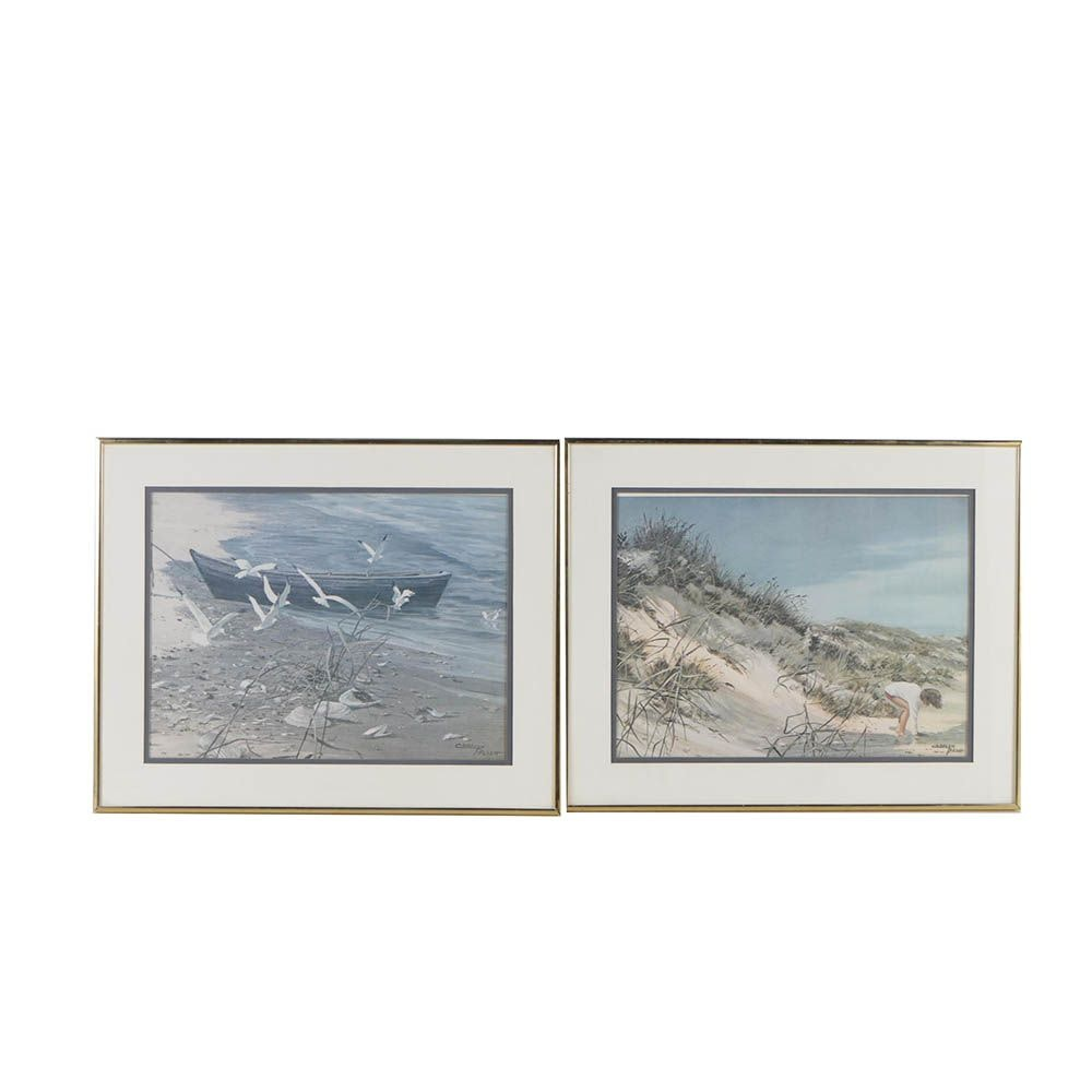 Offset Lithographs after Carolyn Blish