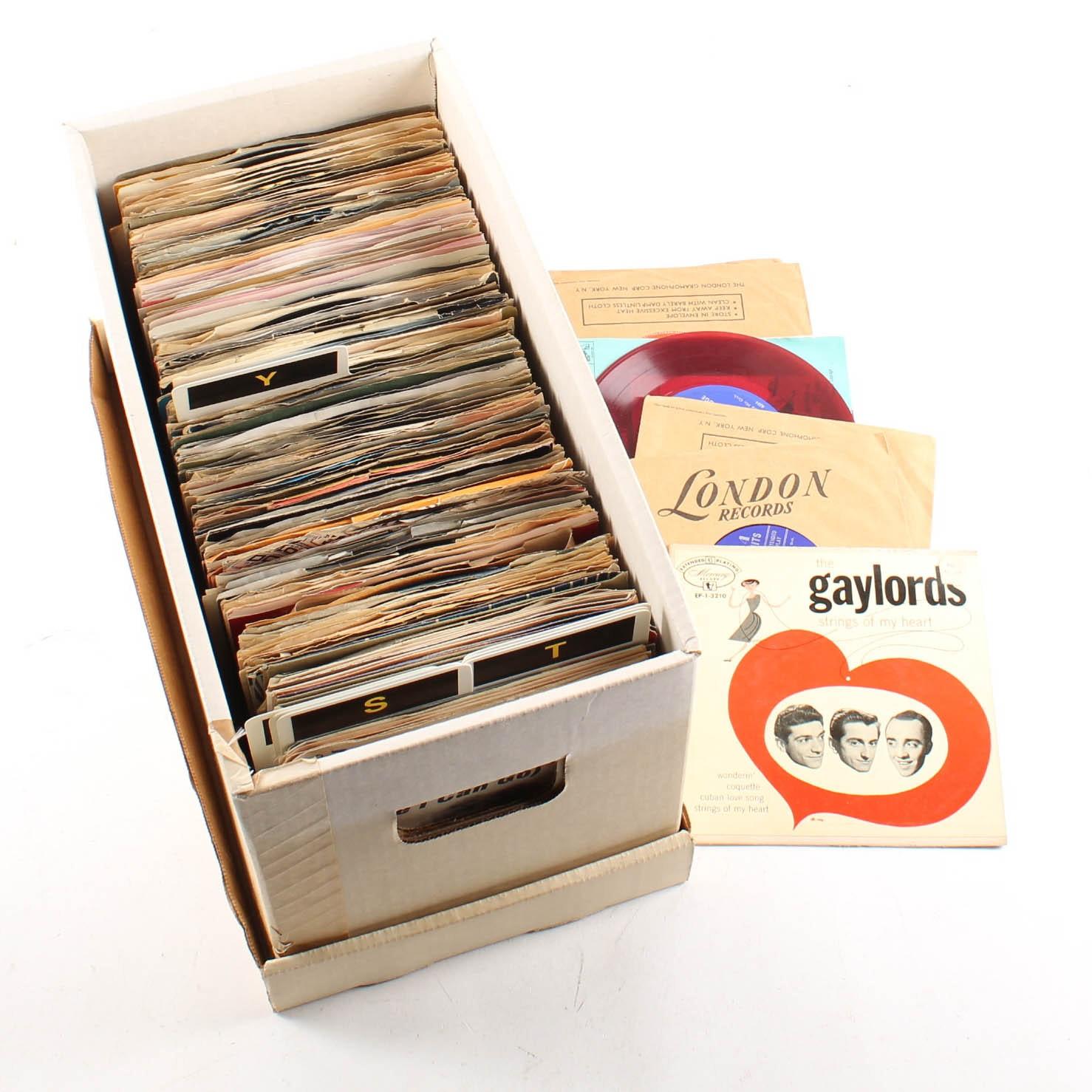 Vintage 45 RPM Singles