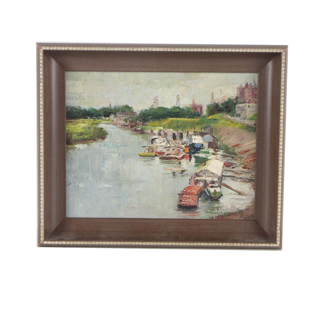 Margaret Whitaker Oil Painting of Wolf River in Tennessee