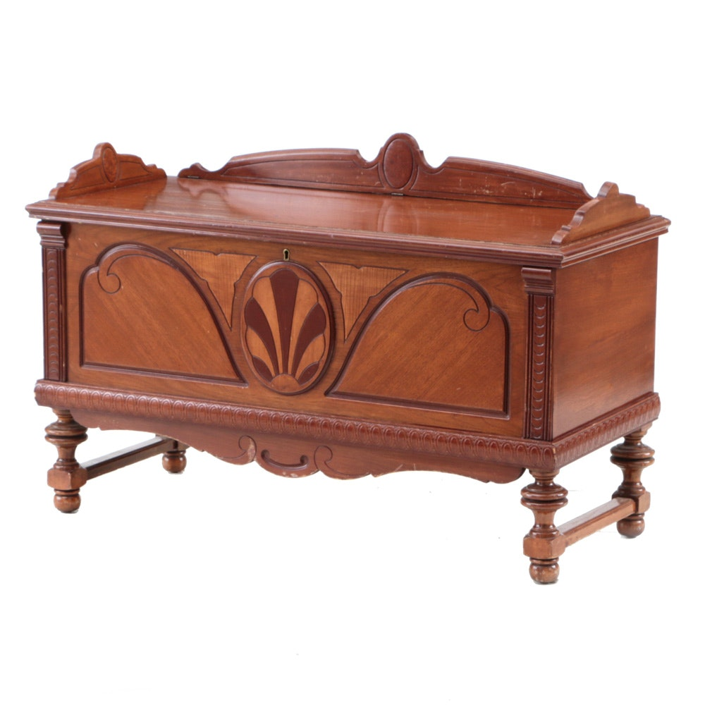 Jacobean Revival Cedar Chest