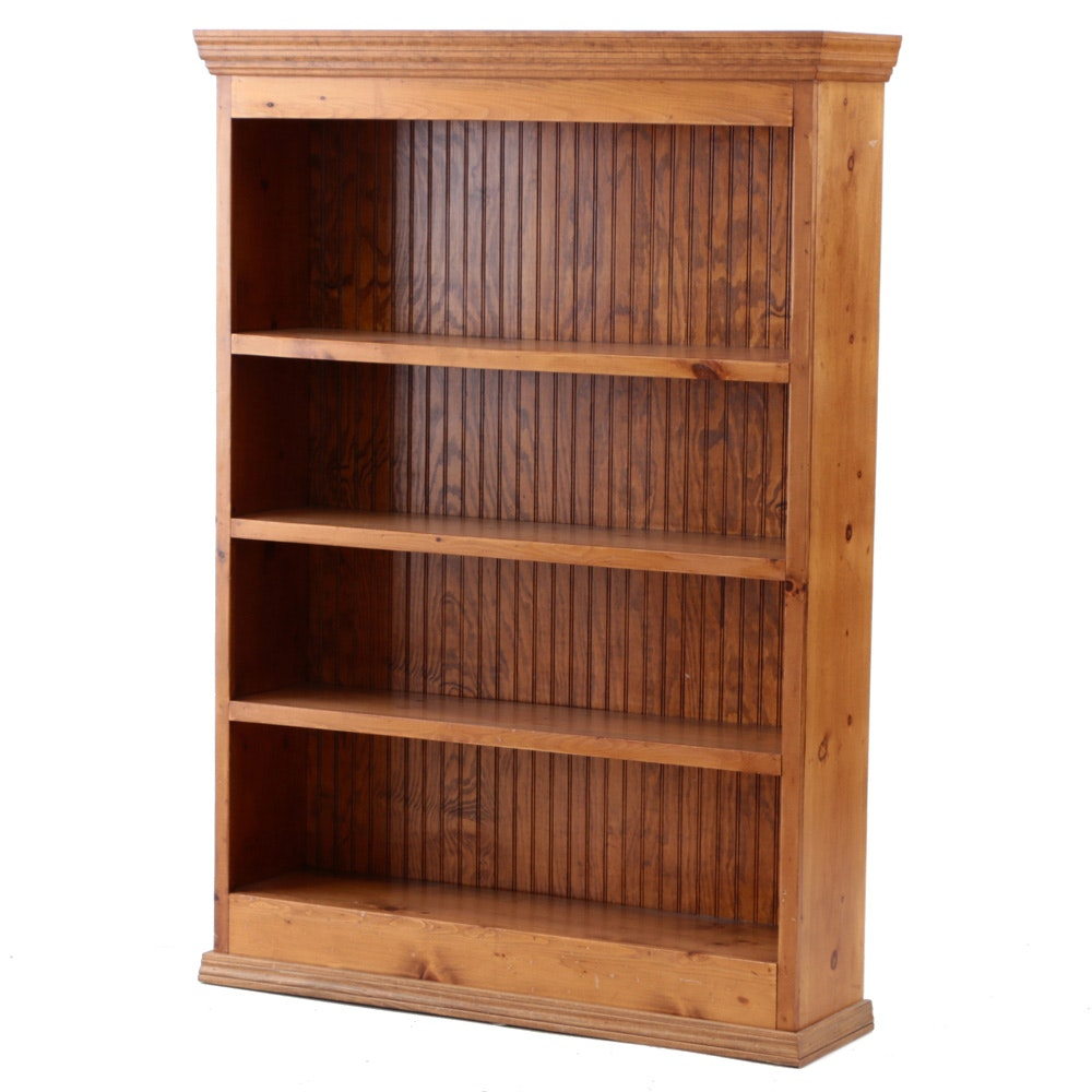 Country Style Pine Bookcase