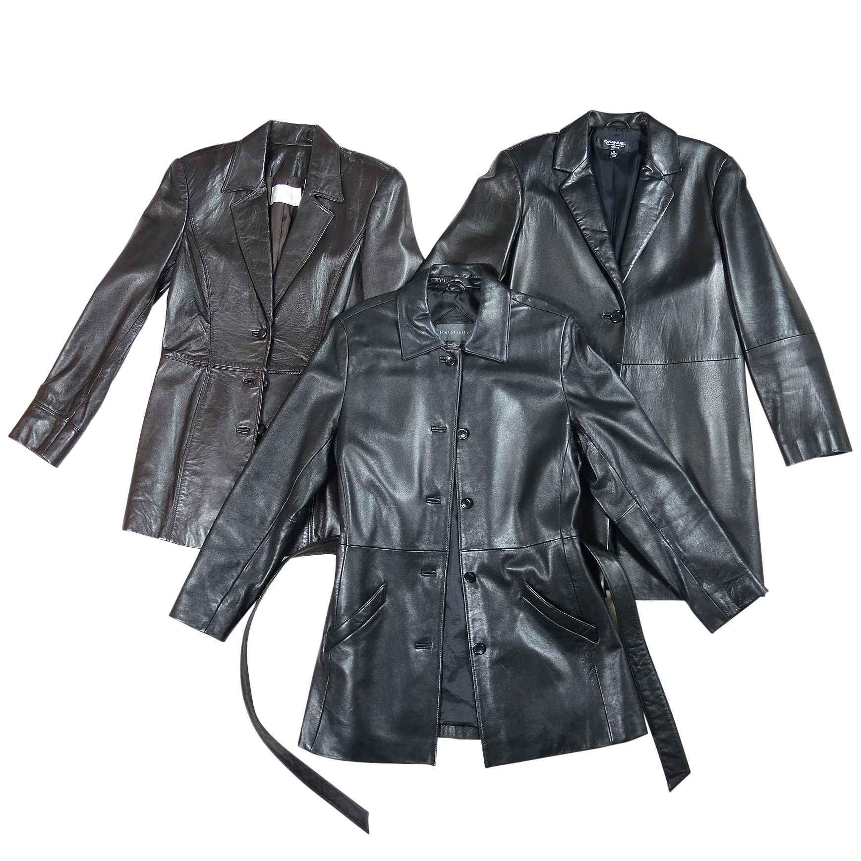 Women's Leather Jackets Including Emanuel by Emanuel Ungaro