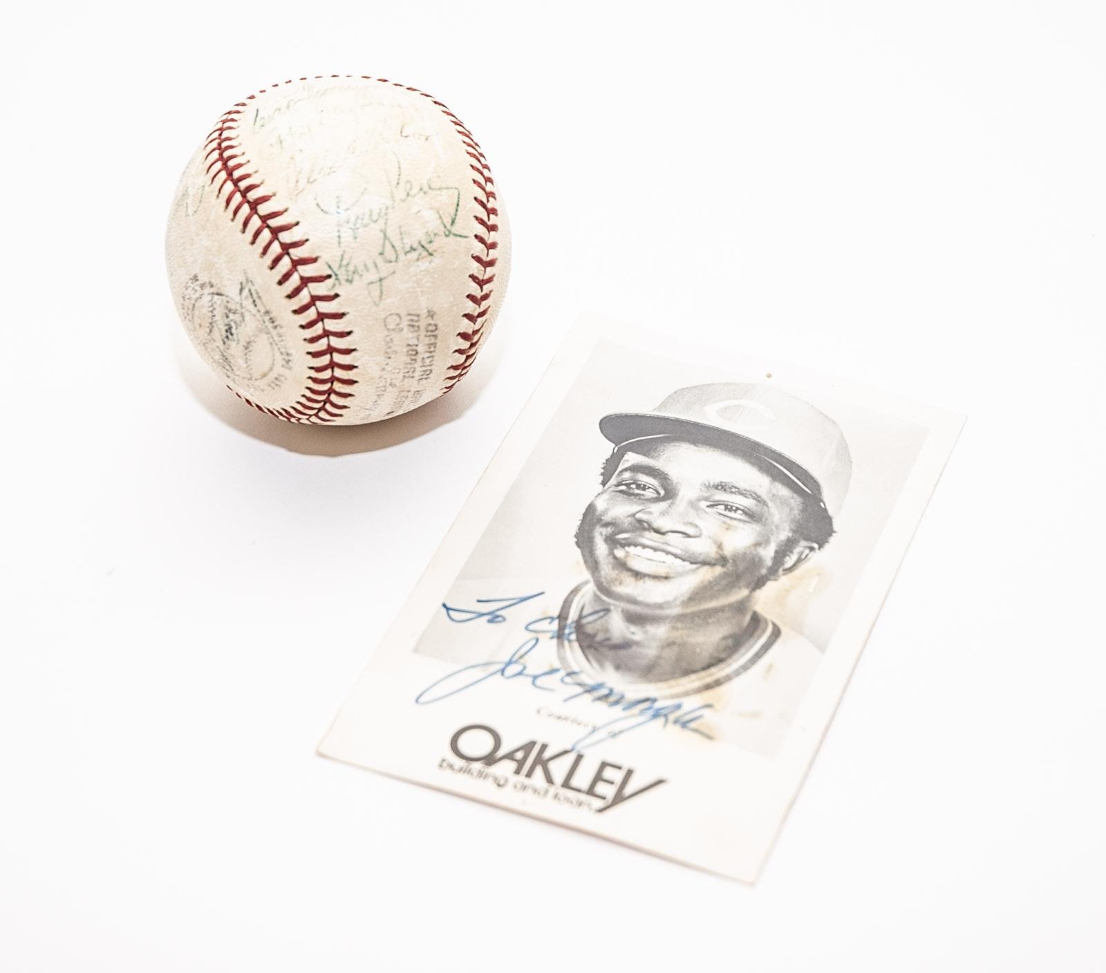 Reds Autographed Baseball Including Tony Perez, Ed Sprague and More