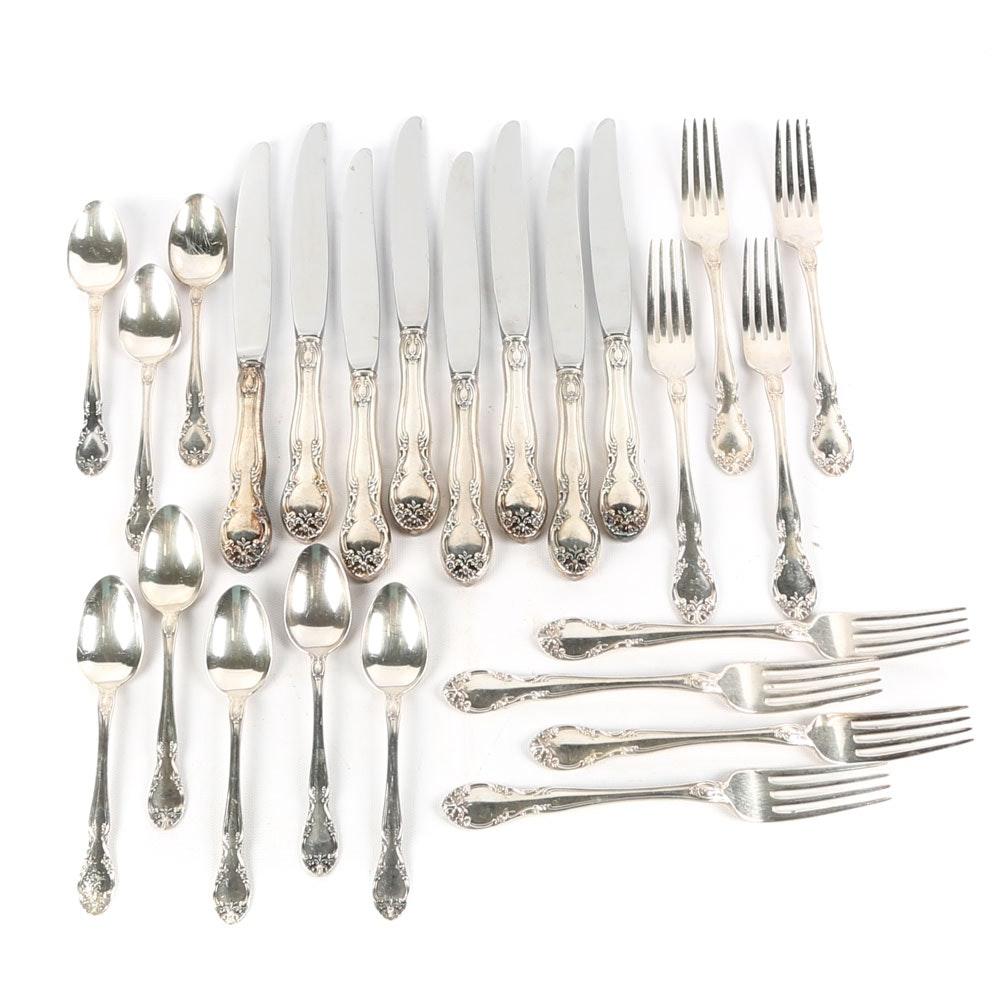 "Gorham ""New Elegance"" Silver Plate Flatware"