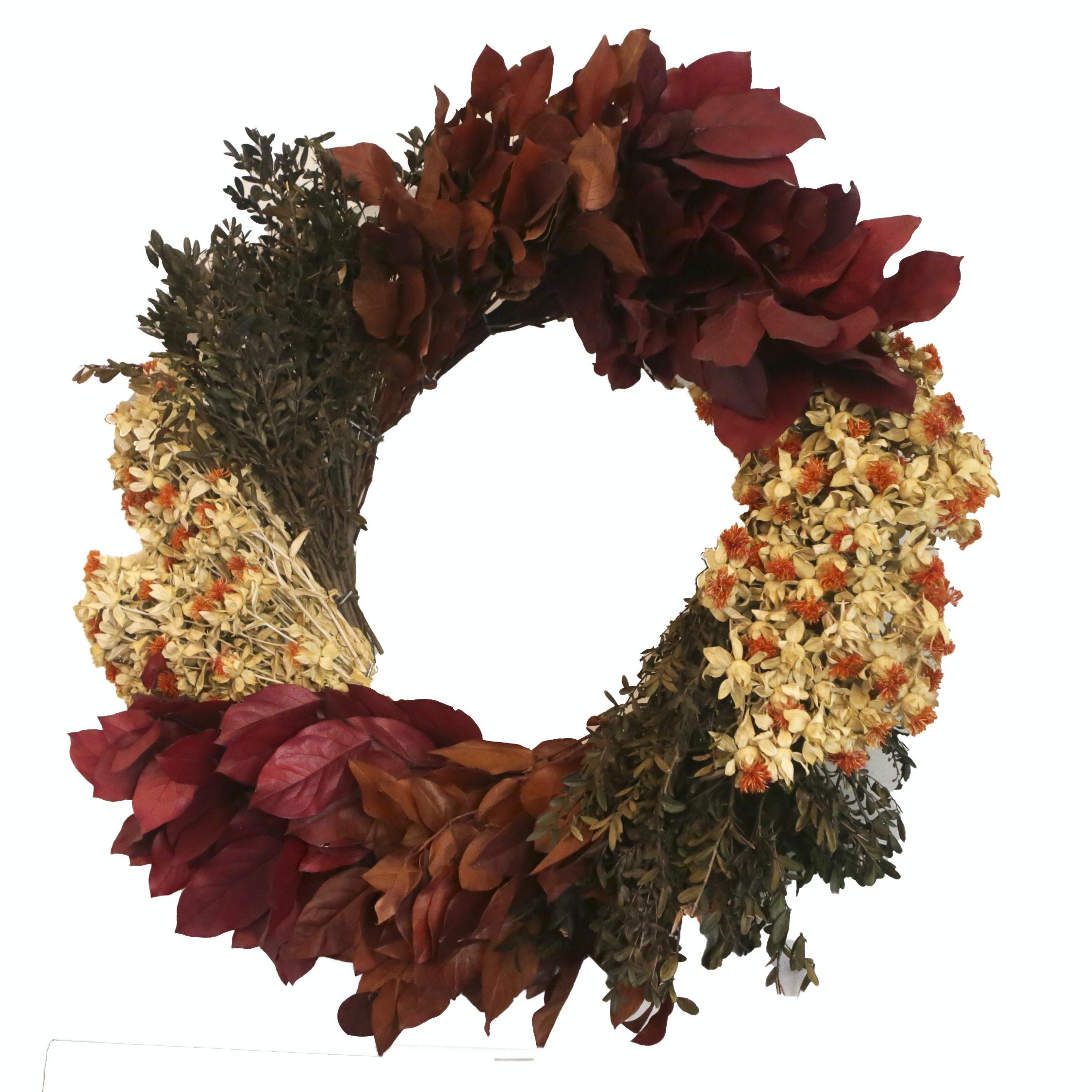 Decorative Autumnal Wreath