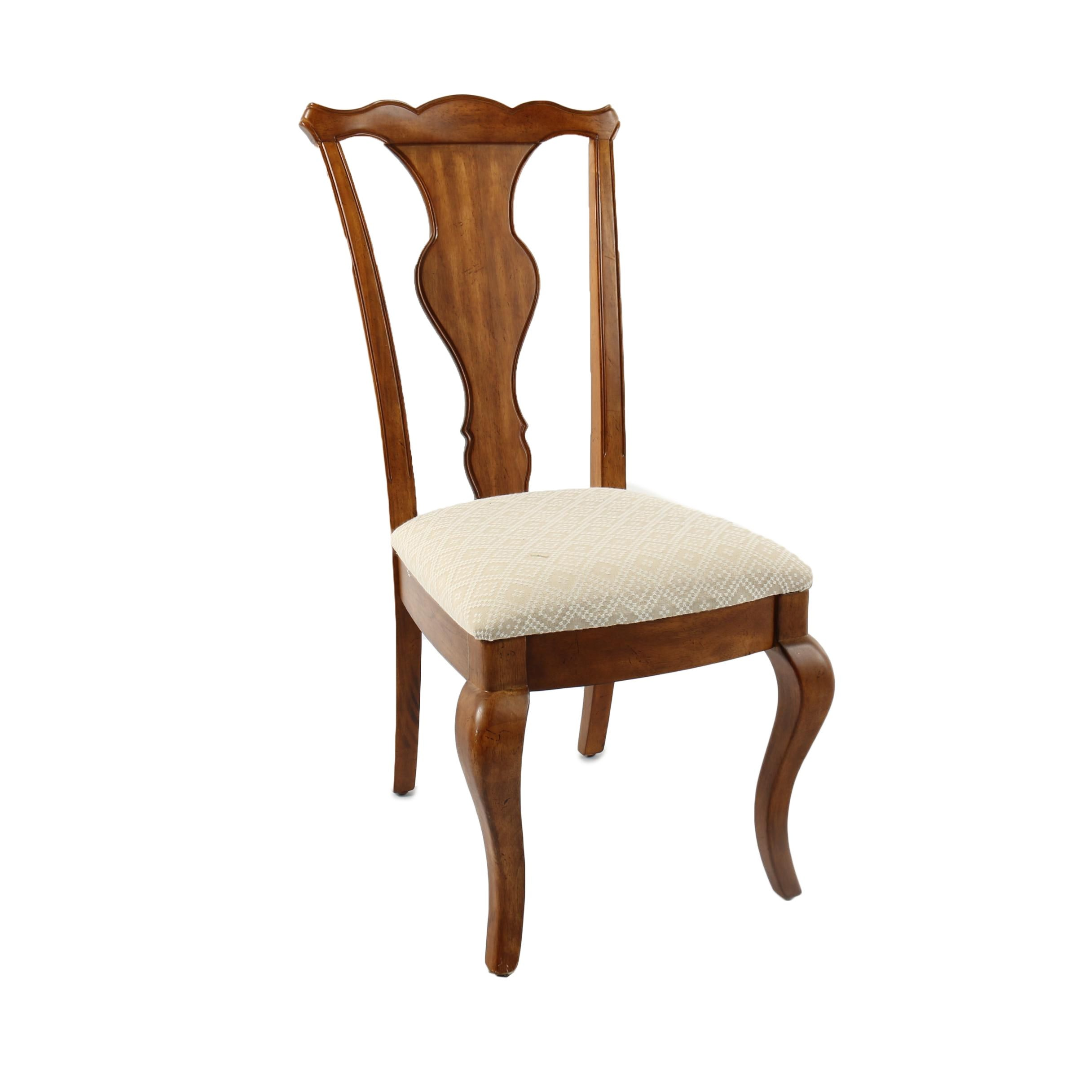 Queen Anne Style Side Chair by Poundex