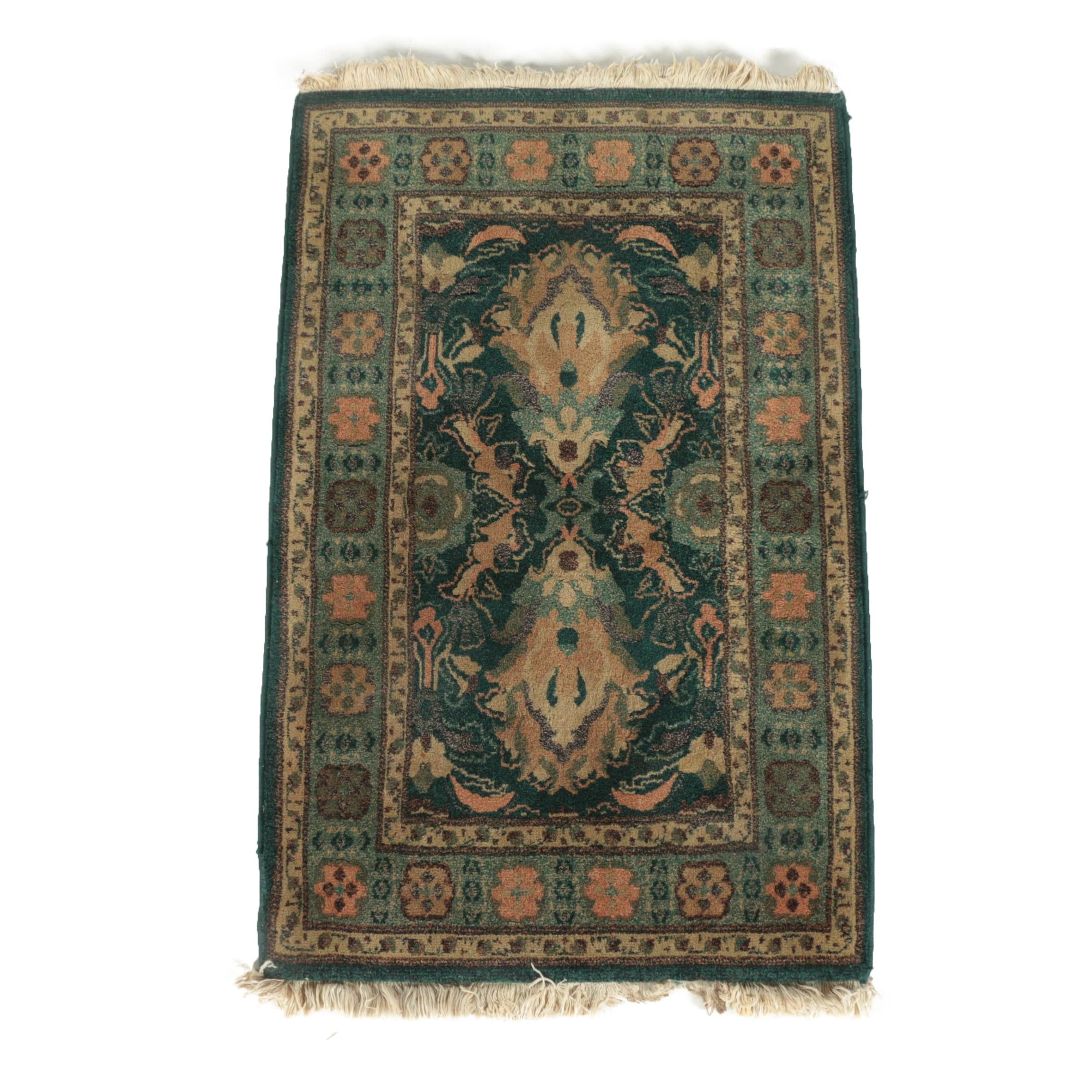 Power-Loomed Persian-Style Accent Rug