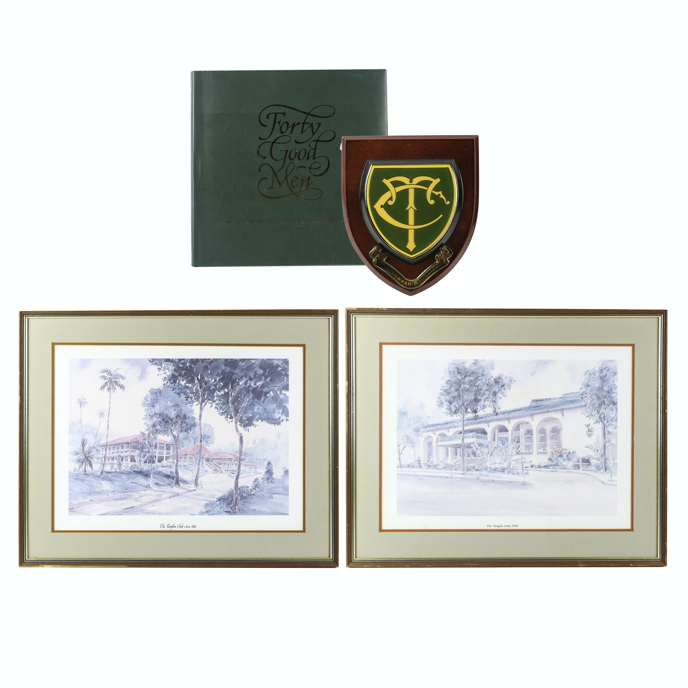 The Tanglin Club of Singapore Framed Prints and Book