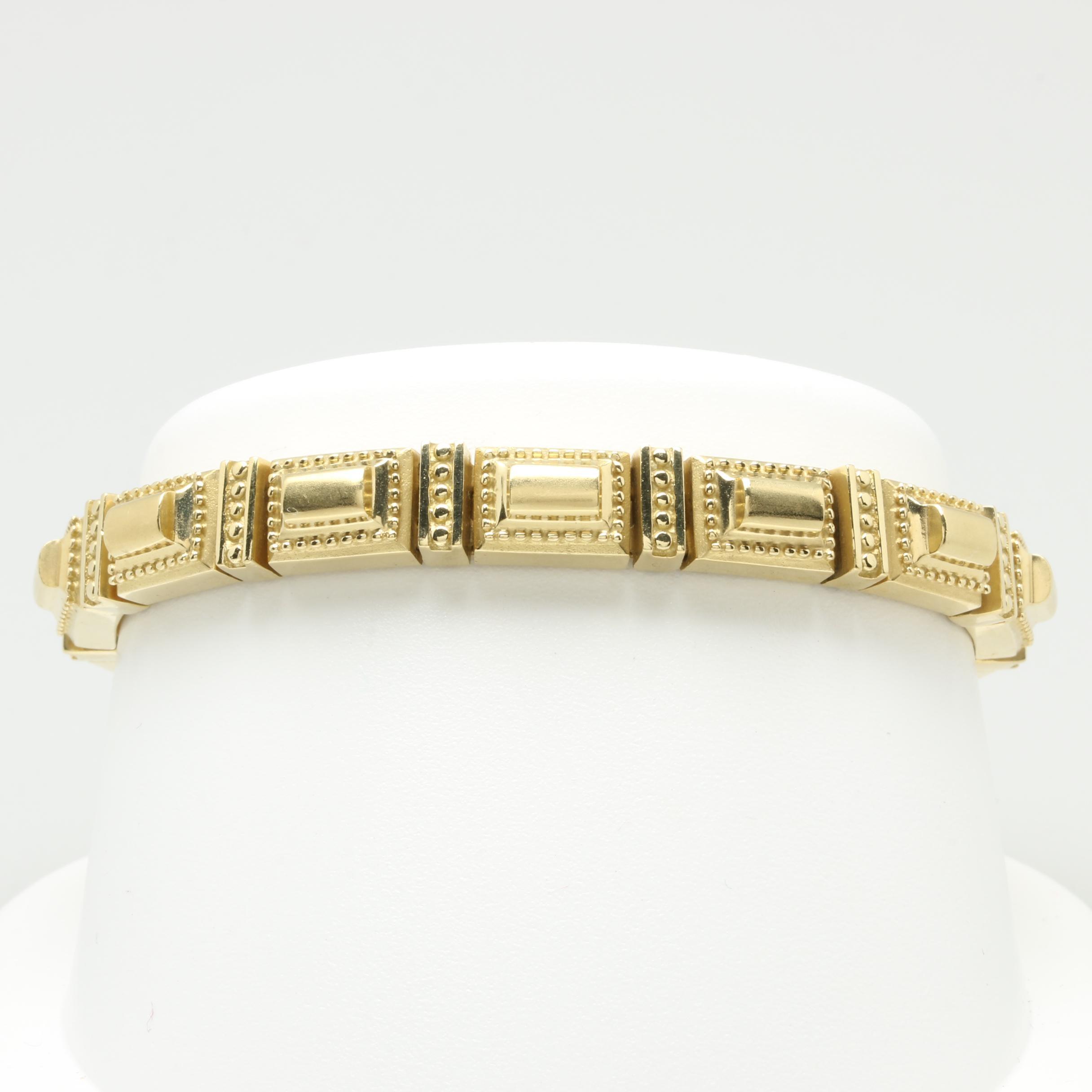 "SeidenGang ""Classic"" 18K Yellow Gold Bracelet"