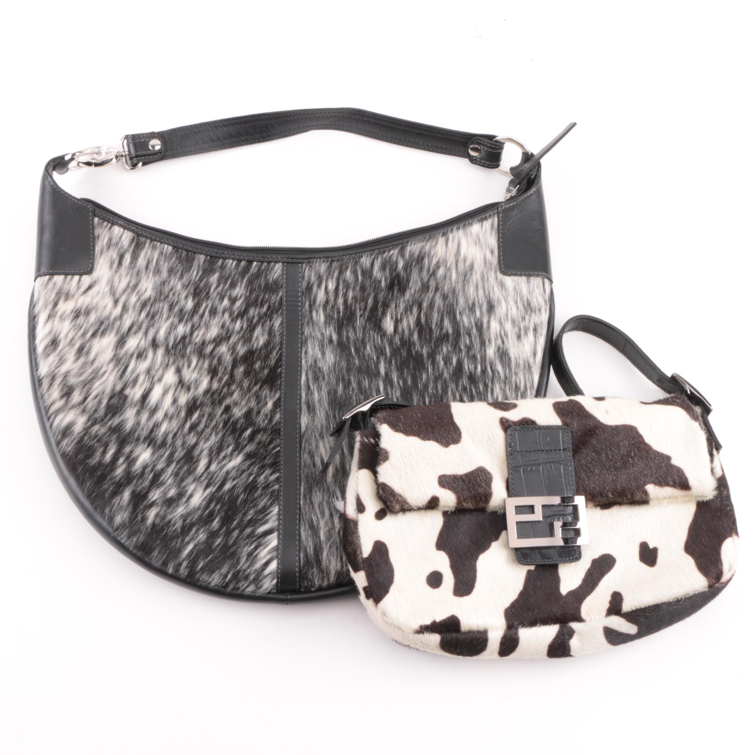 Damare and Park Ave Int. Pony Hair Handbags