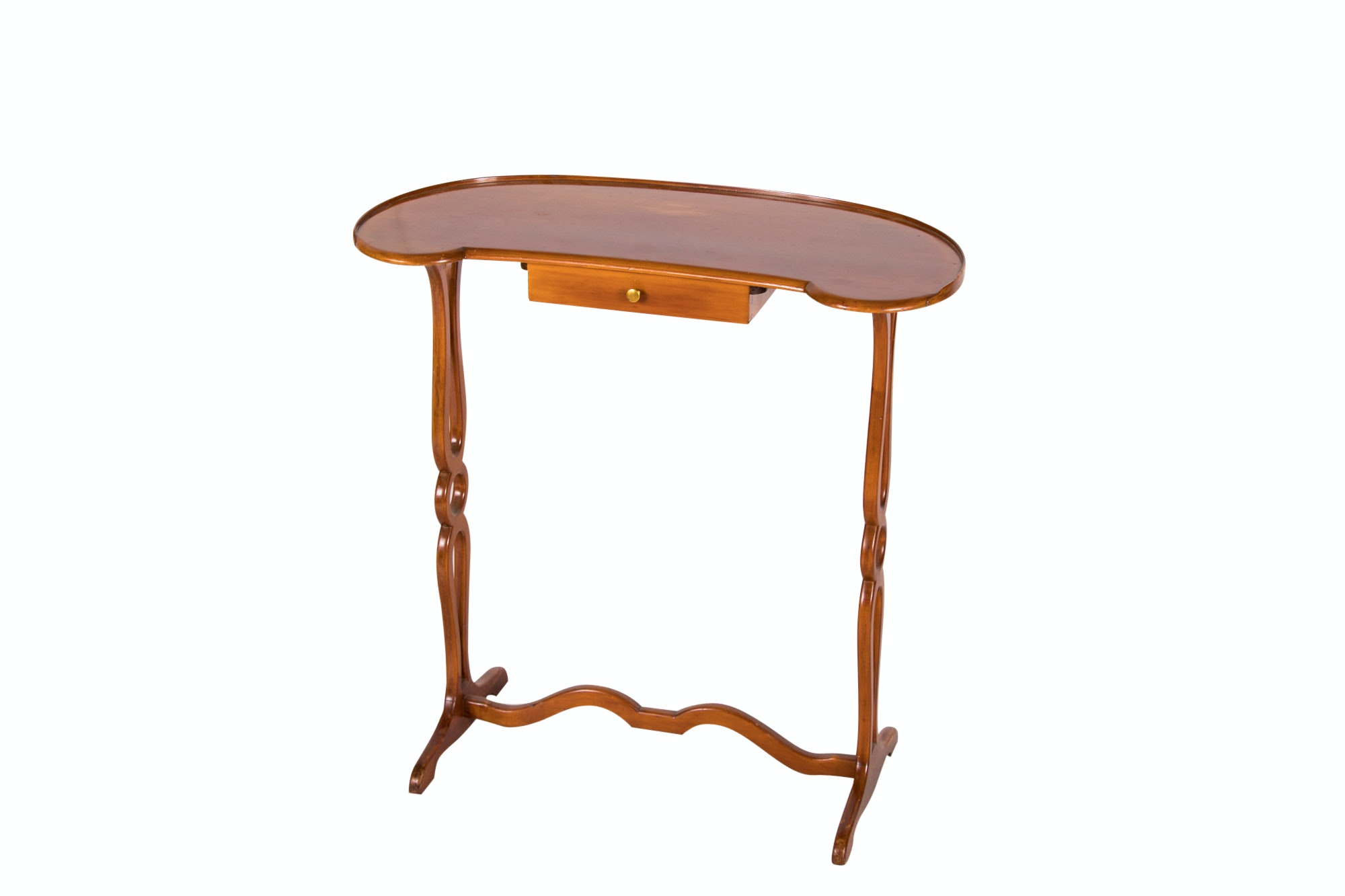 Louis XVI Style Fruitwood Table à Rognon, 20th Century