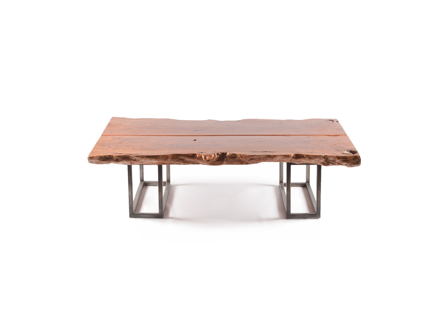Live Edge Lacquered Coffee Table