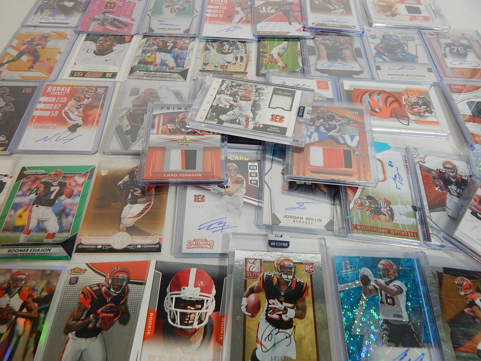 Cincinnati Bengals Card Collection from 2000s