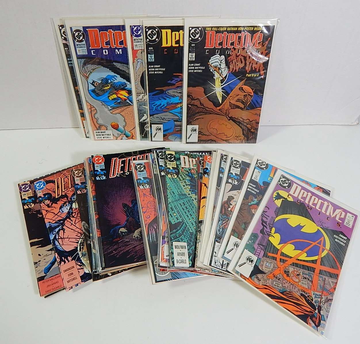 DC Comics with Detective Comics, Batman, Cat Woman - 42 Lot Count