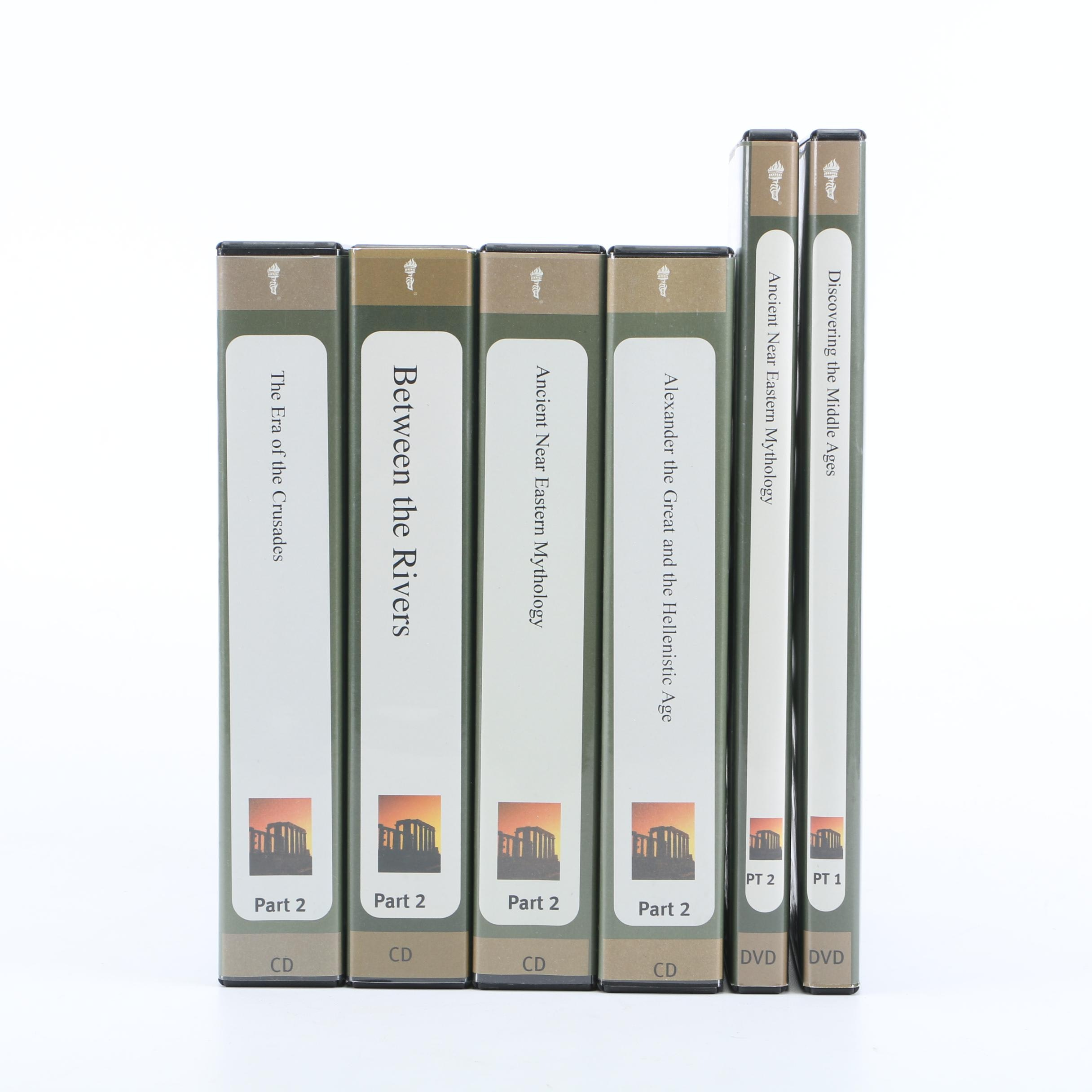 """The Teaching Company """"The Great Courses"""" Ancient and Medieval History CDs"""